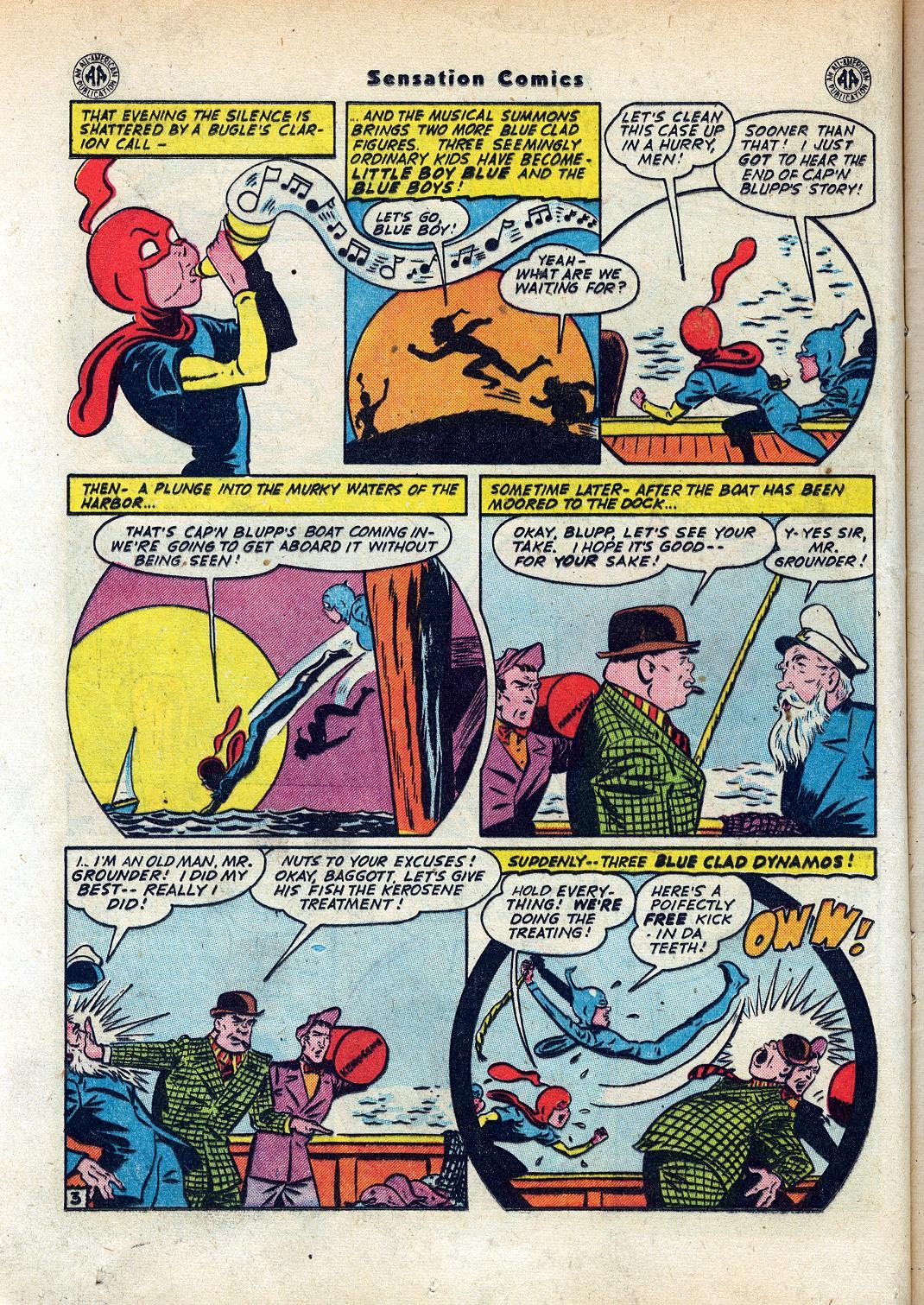 Read online Sensation (Mystery) Comics comic -  Issue #45 - 18