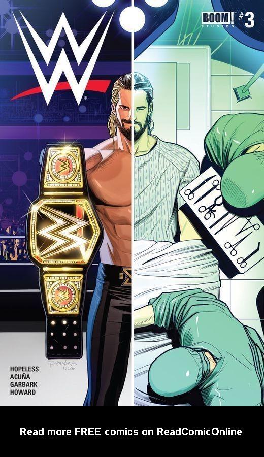 Read online WWE comic -  Issue #3 - 1
