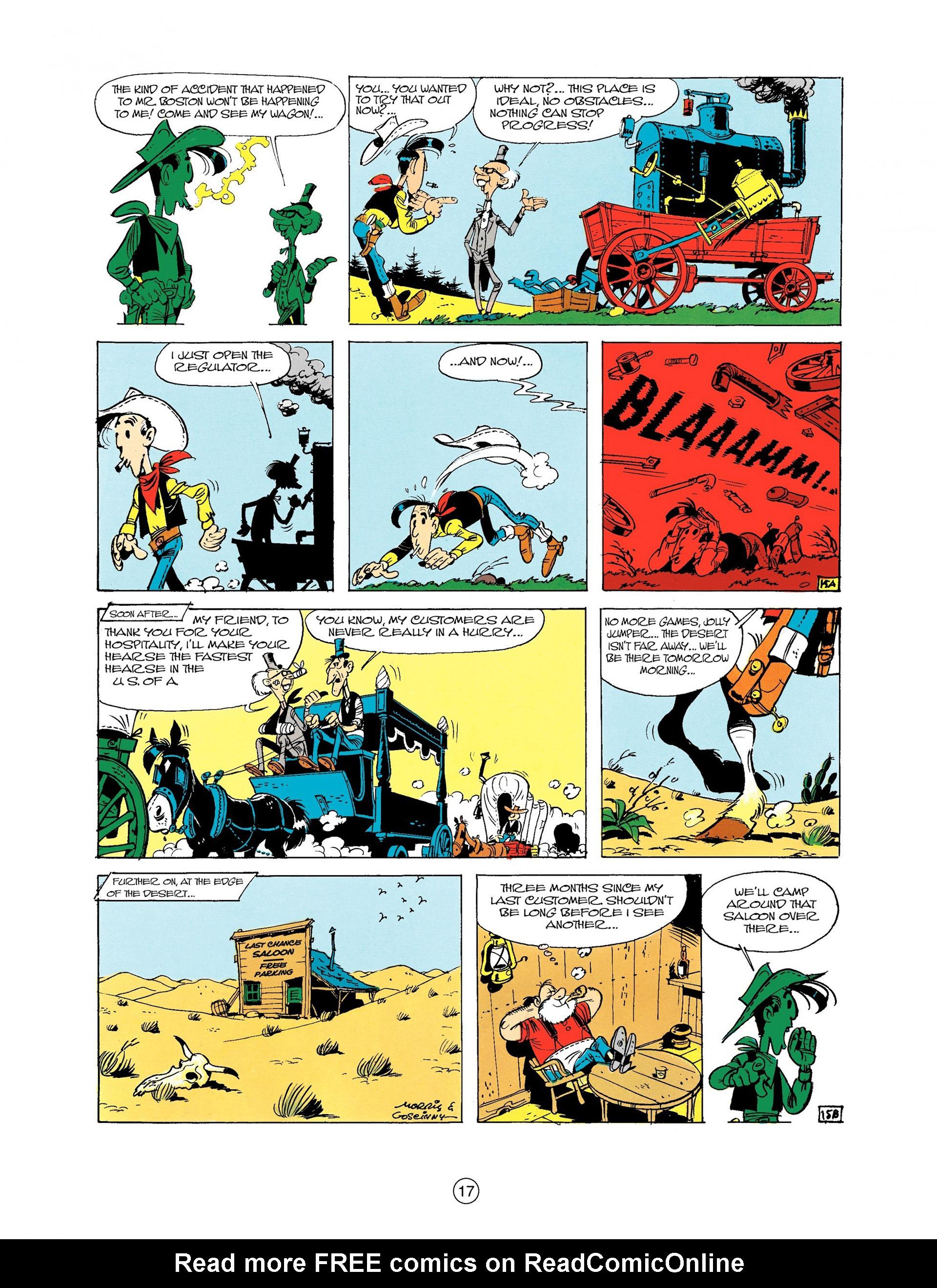 Read online A Lucky Luke Adventure comic -  Issue #9 - 17