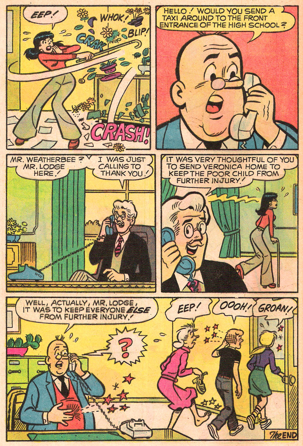 Read online Archie's Girls Betty and Veronica comic -  Issue #242 - 8