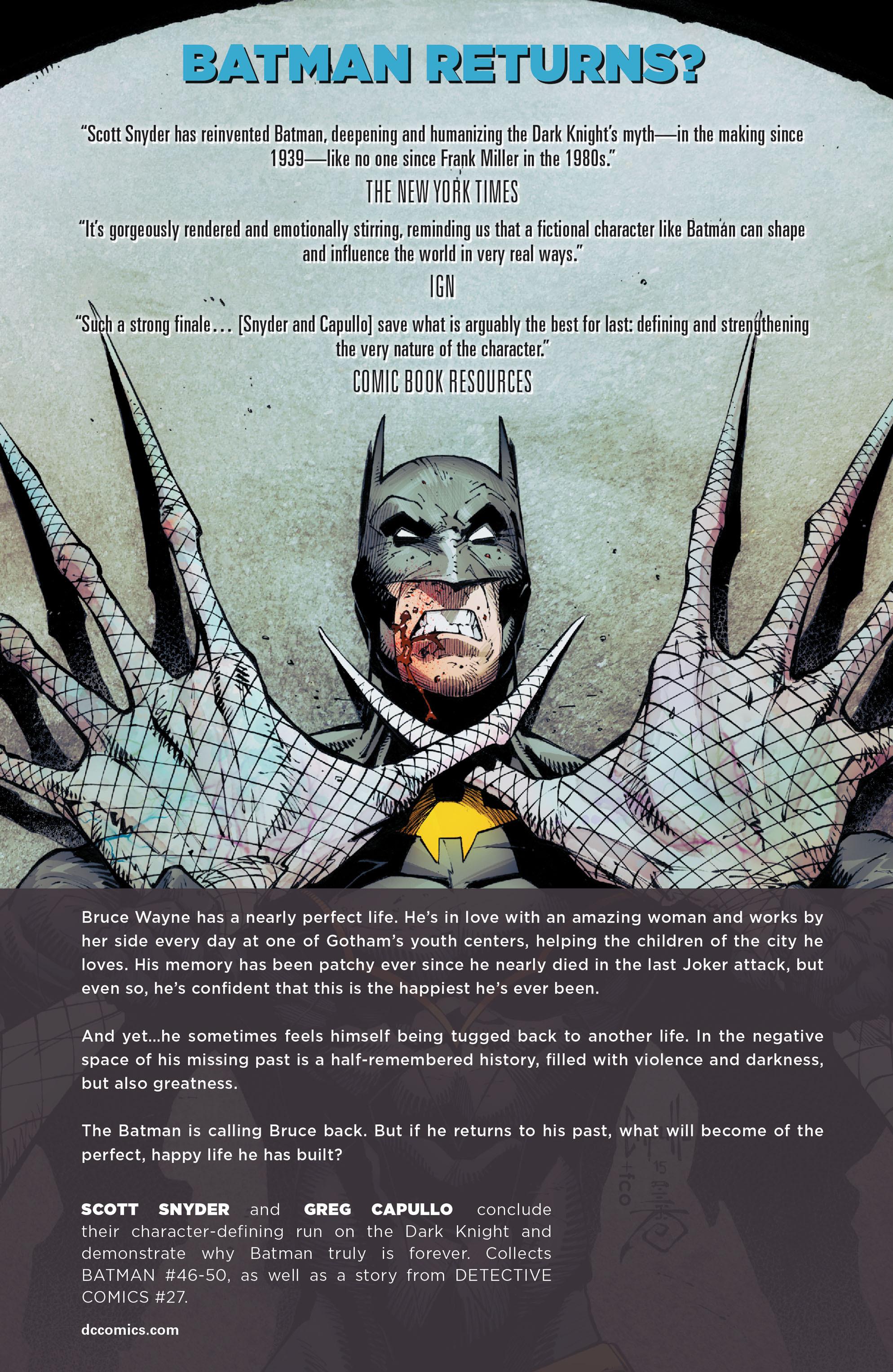 Read online Batman (2011) comic -  Issue # _TPB 9 - 177