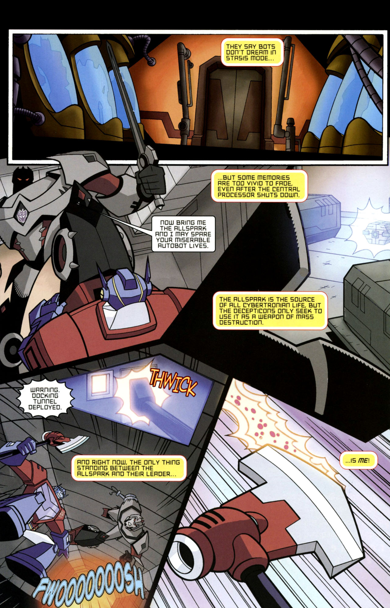 Read online Transformers Animated: The Arrival comic -  Issue #1 - 6