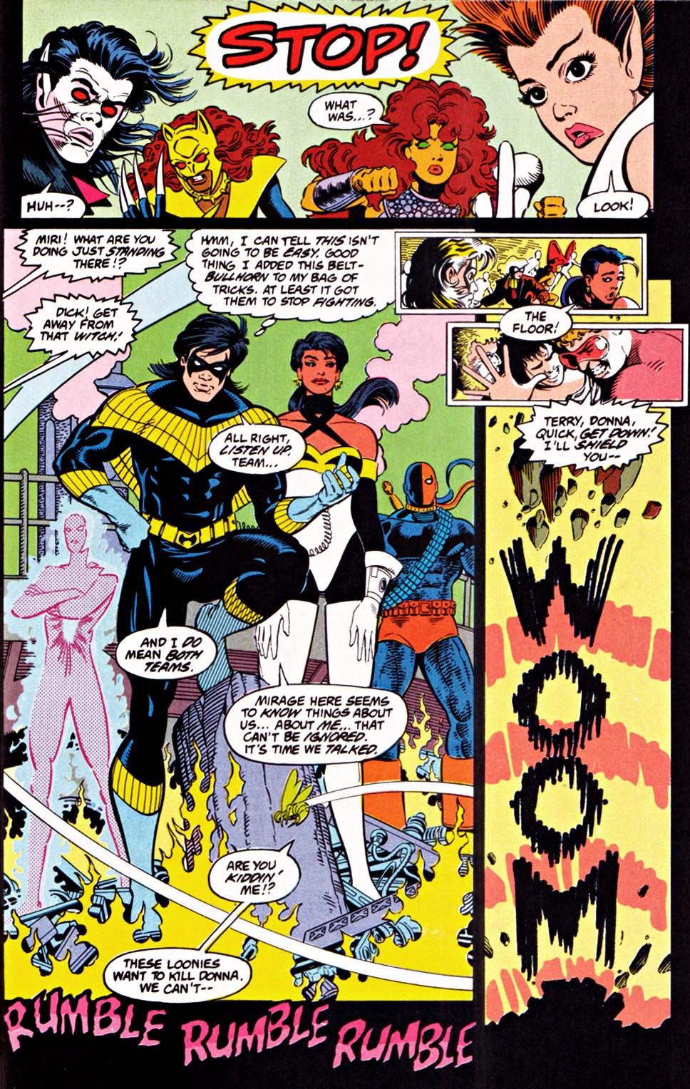 Read online Team Titans comic -  Issue #1e - 27