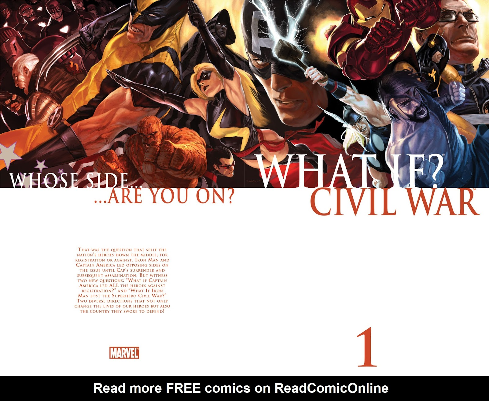 What If? Civil War issue Full - Page 1