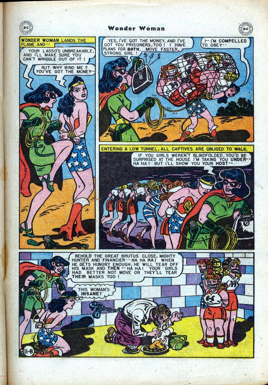 Read online Wonder Woman (1942) comic -  Issue #24 - 31