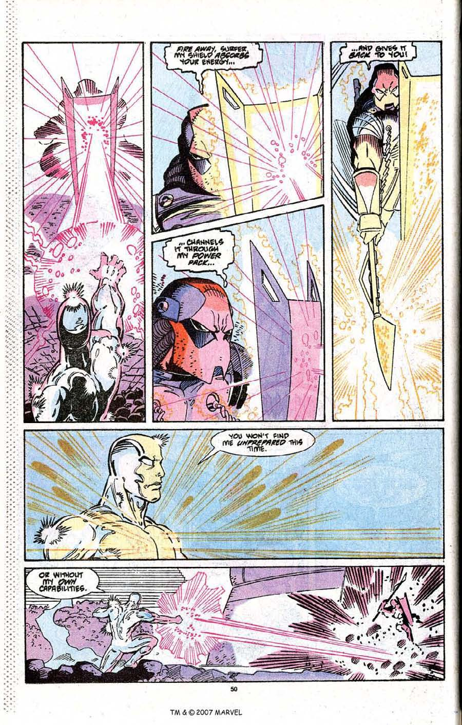 Read online Silver Surfer (1987) comic -  Issue # _Annual 3 - 52