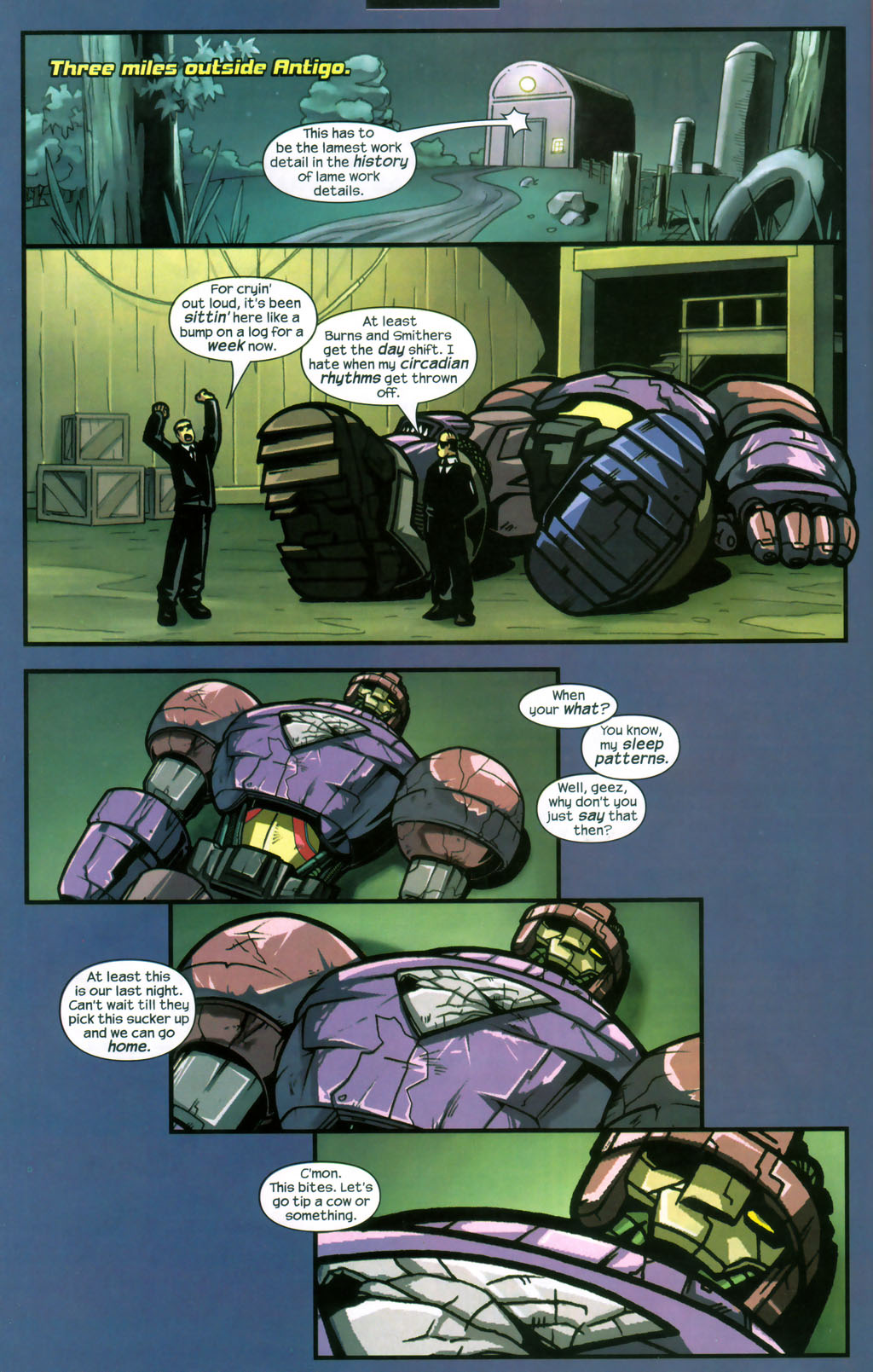 Read online Sentinel comic -  Issue #12 - 19