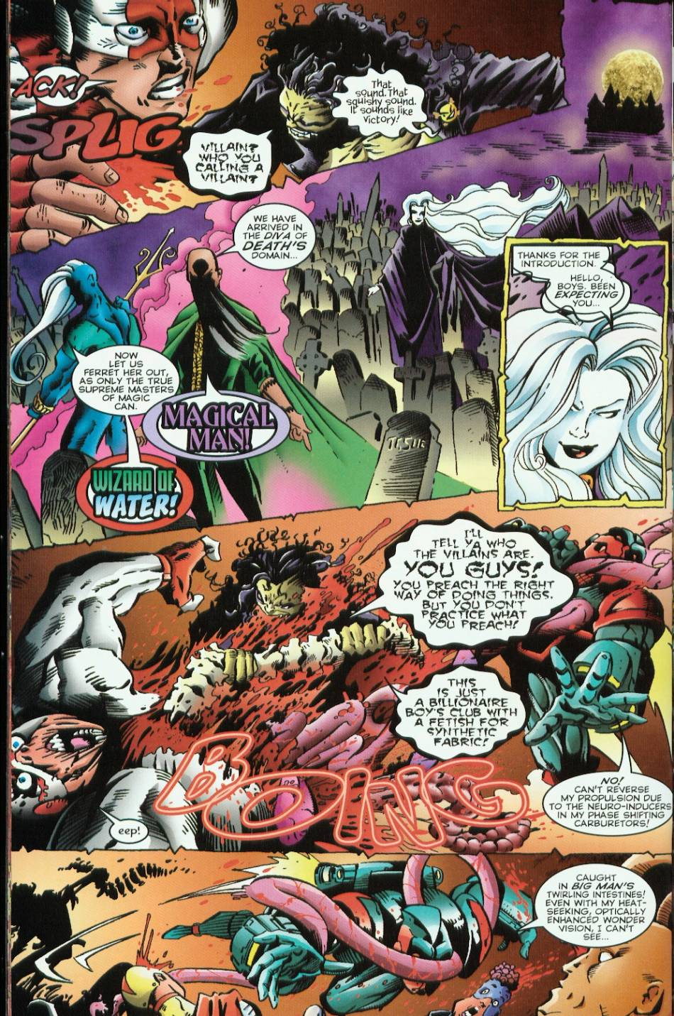 Read online Evil Ernie vs. the Superheroes comic -  Issue #1 - 22