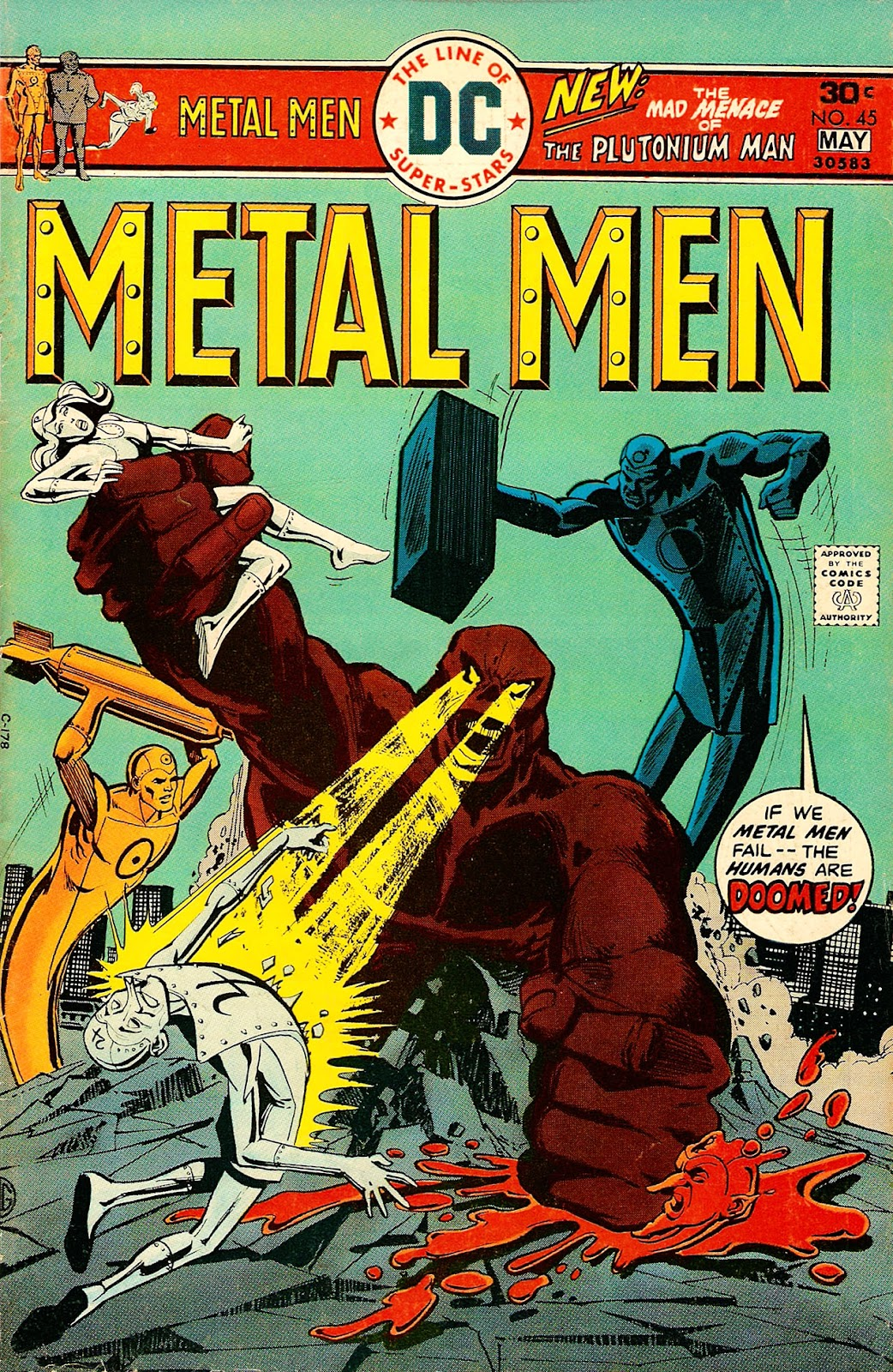 Metal Men (1963) issue 45 - Page 1
