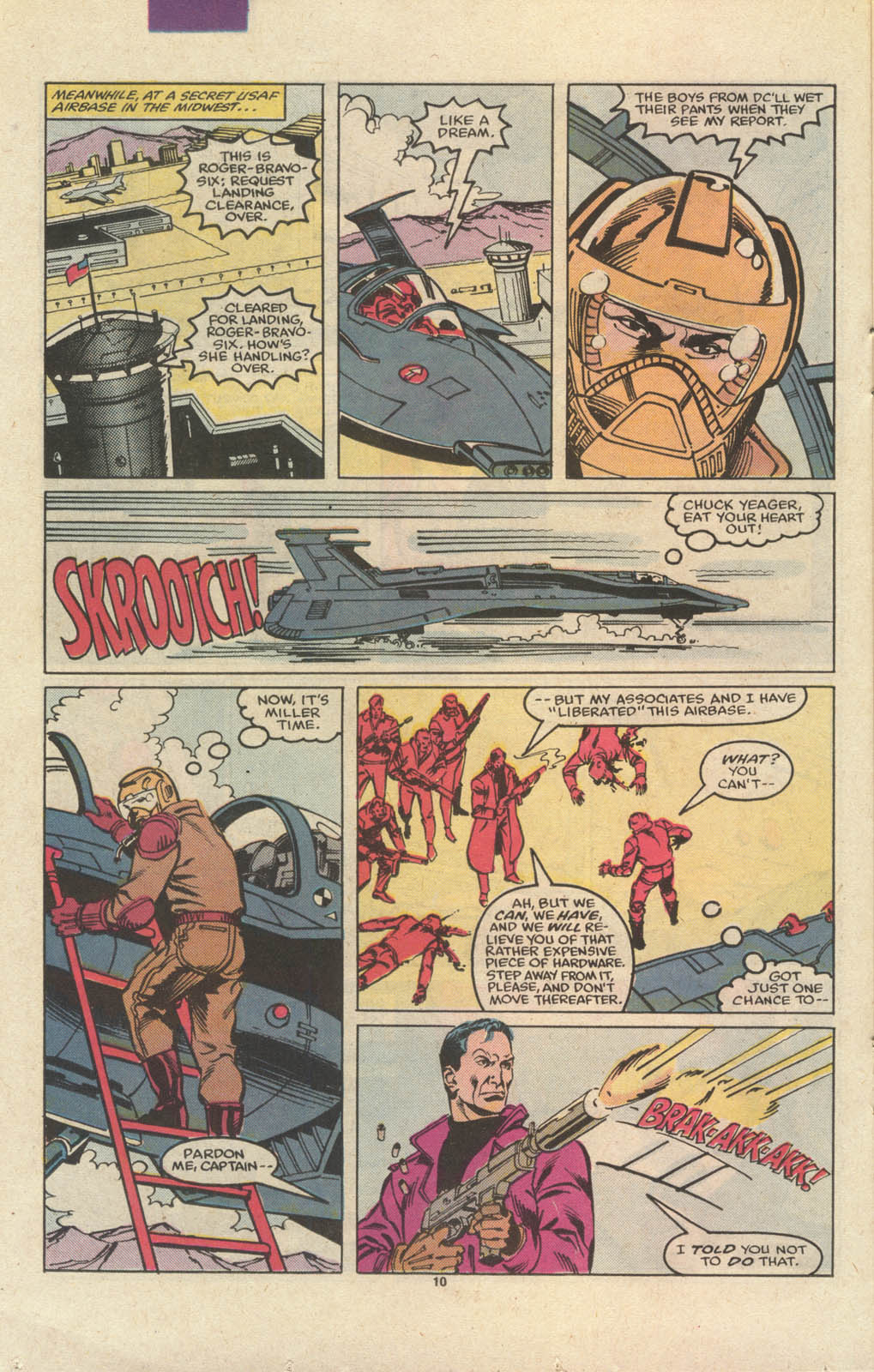 Read online Codename: Spitfire comic -  Issue #12 - 11