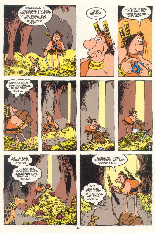 Read online Sergio Aragonés Groo the Wanderer comic -  Issue #100 - 25
