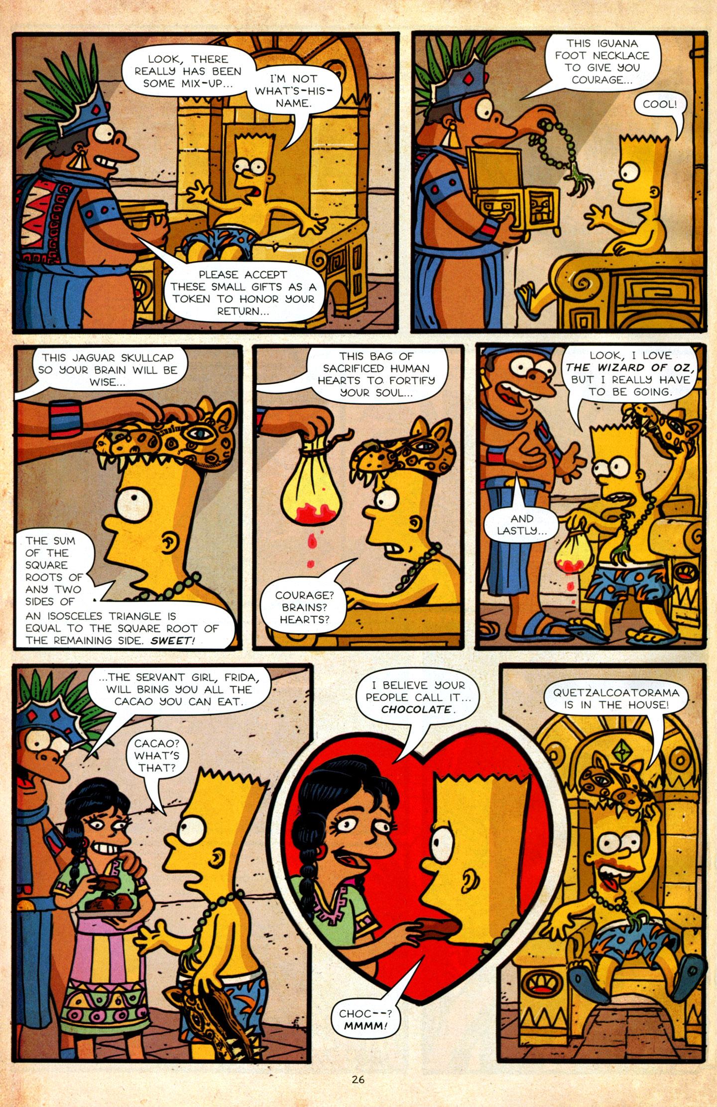 Read online Simpsons Comics Presents Bart Simpson comic -  Issue #64 - 28