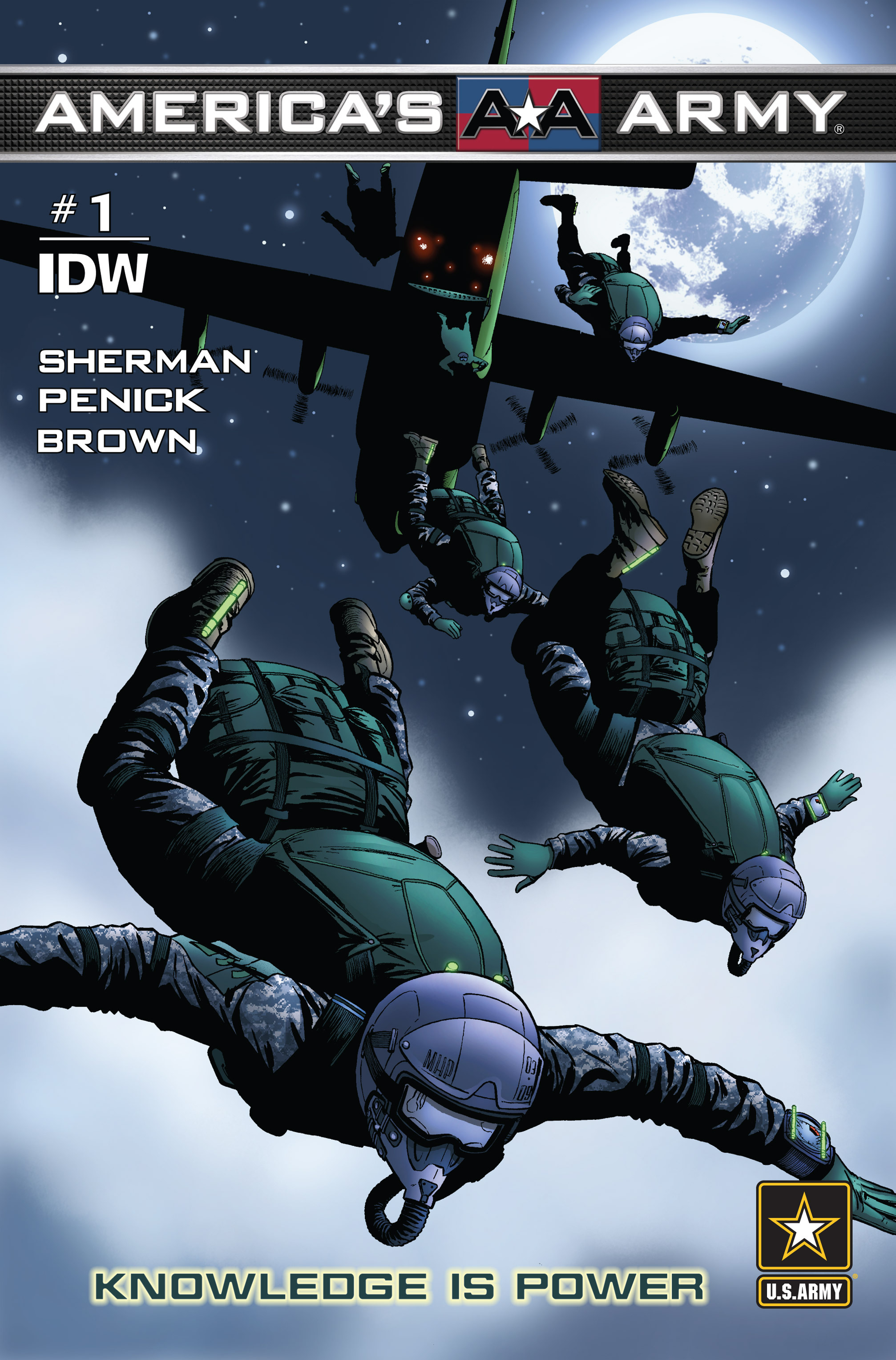Read online America's Army comic -  Issue #1 - 1
