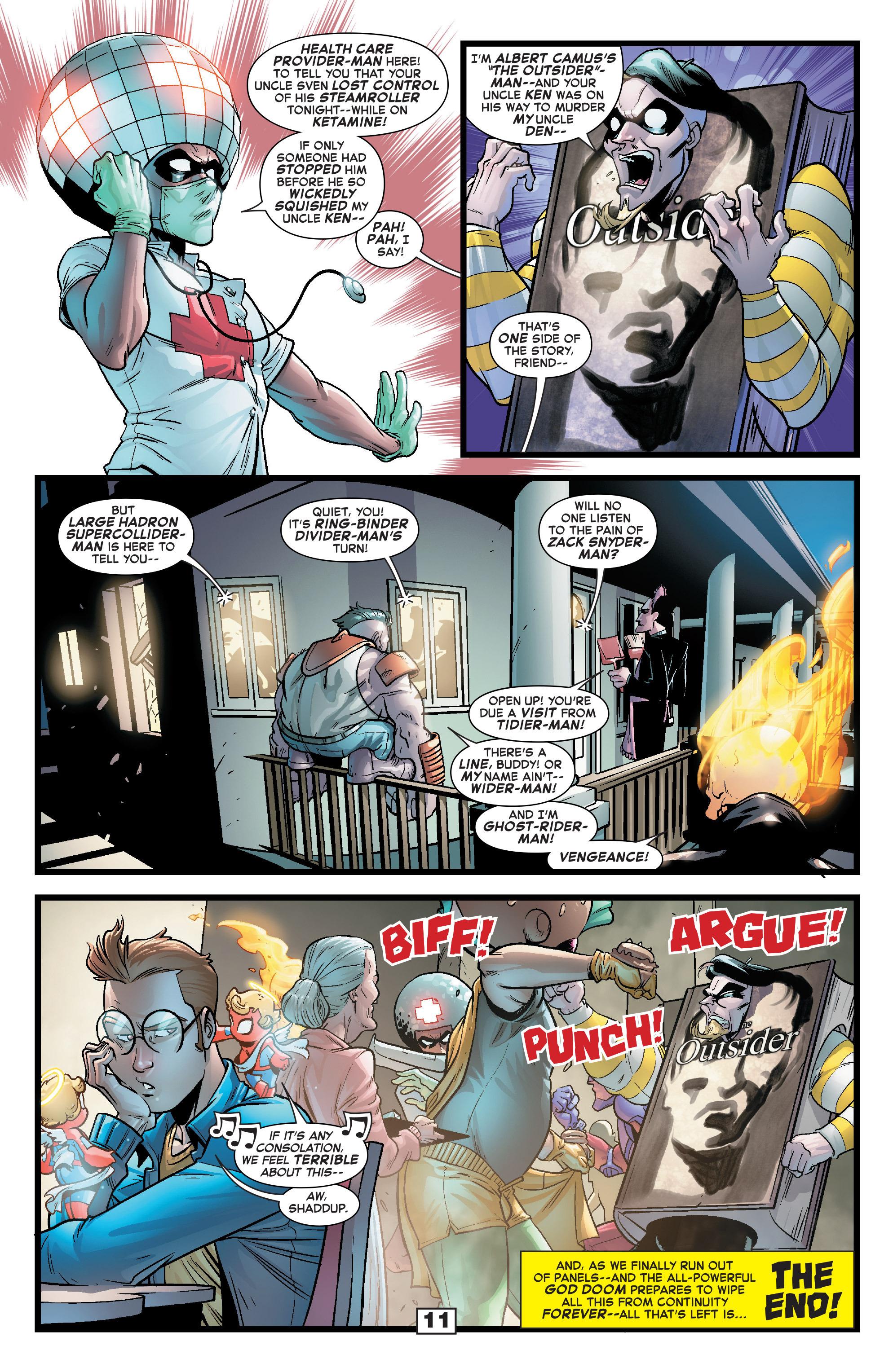 Read online Secret Wars Too comic -  Issue # Full - 13