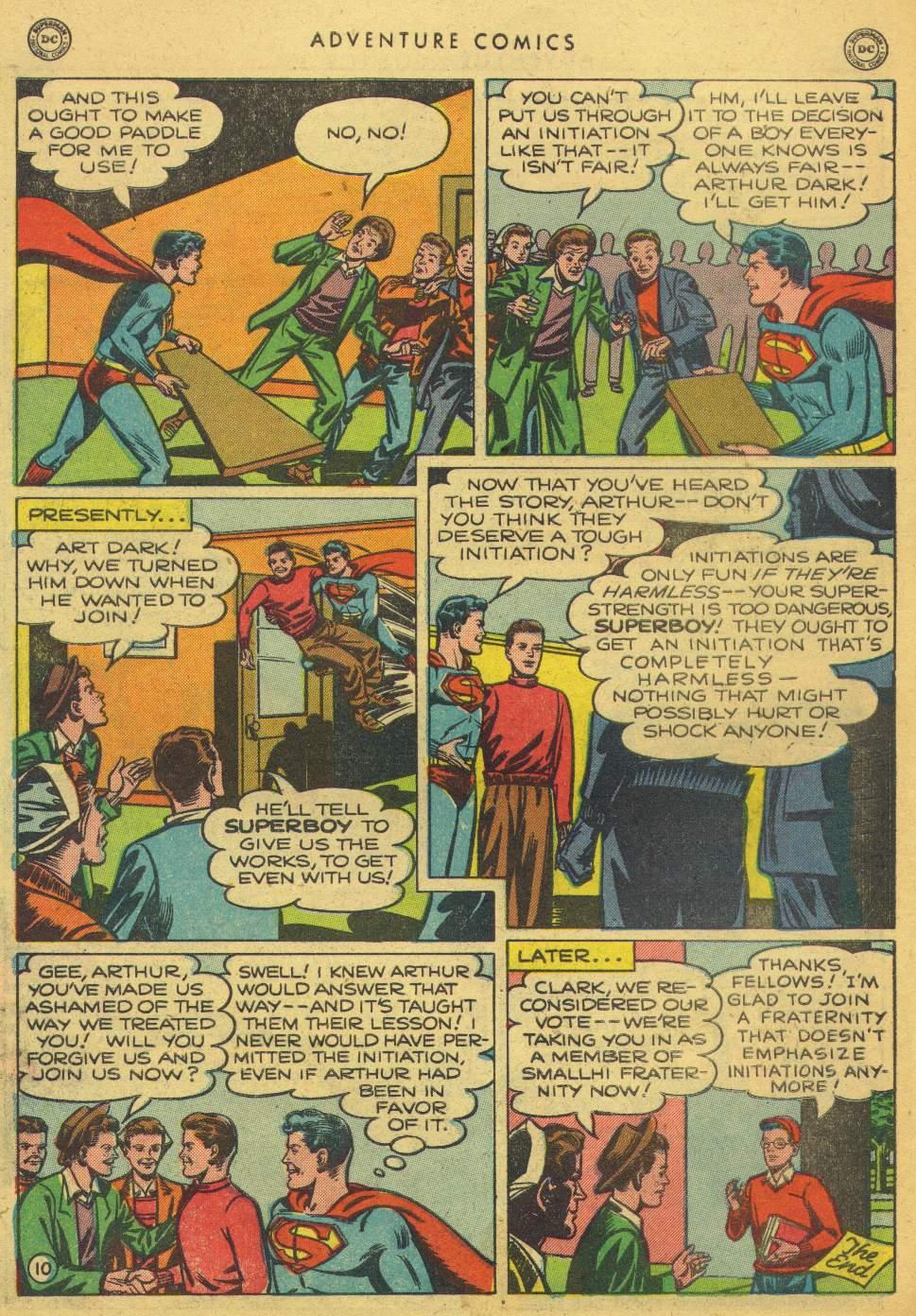 Read online Adventure Comics (1938) comic -  Issue #150 - 12