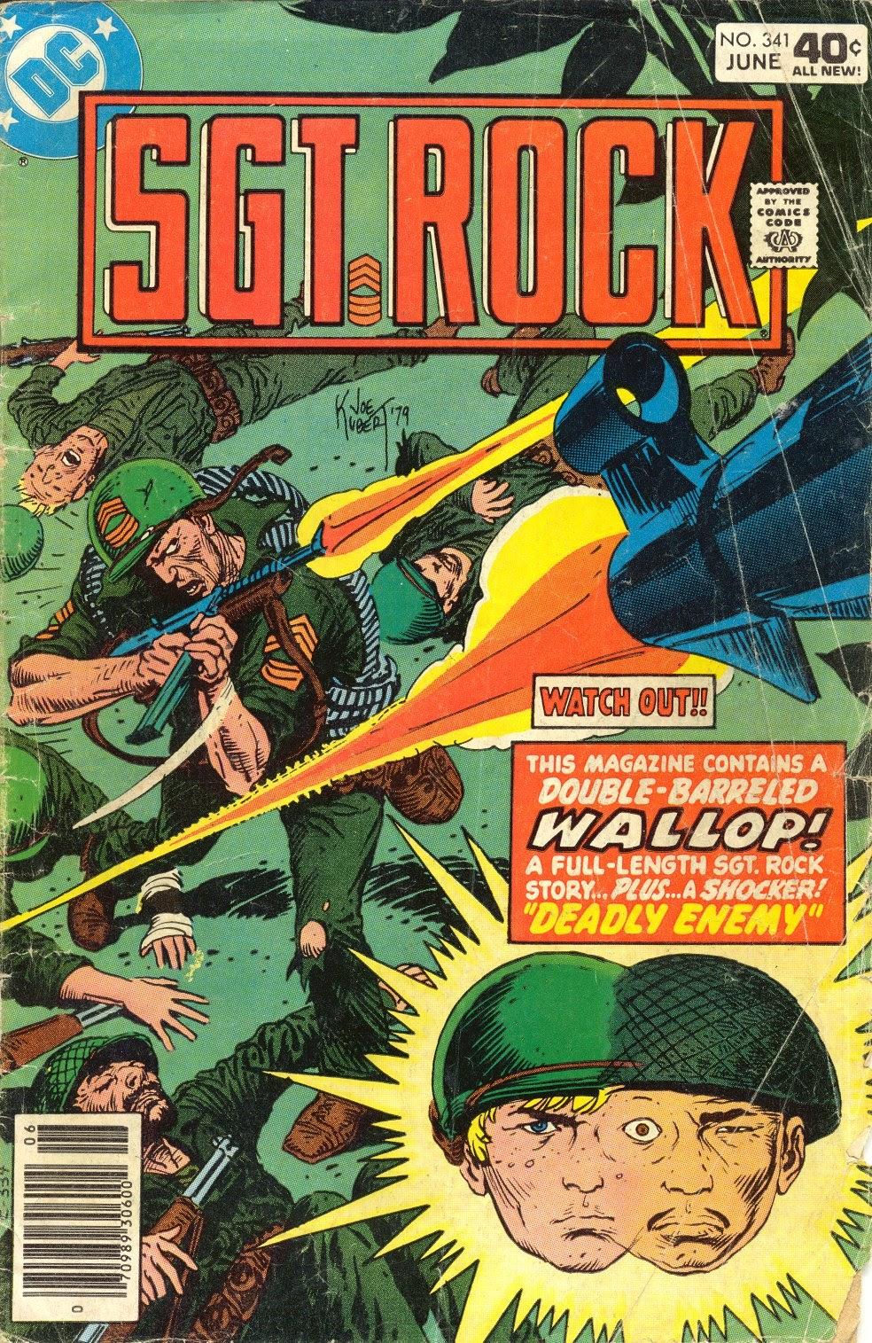Read online Sgt. Rock comic -  Issue #341 - 1