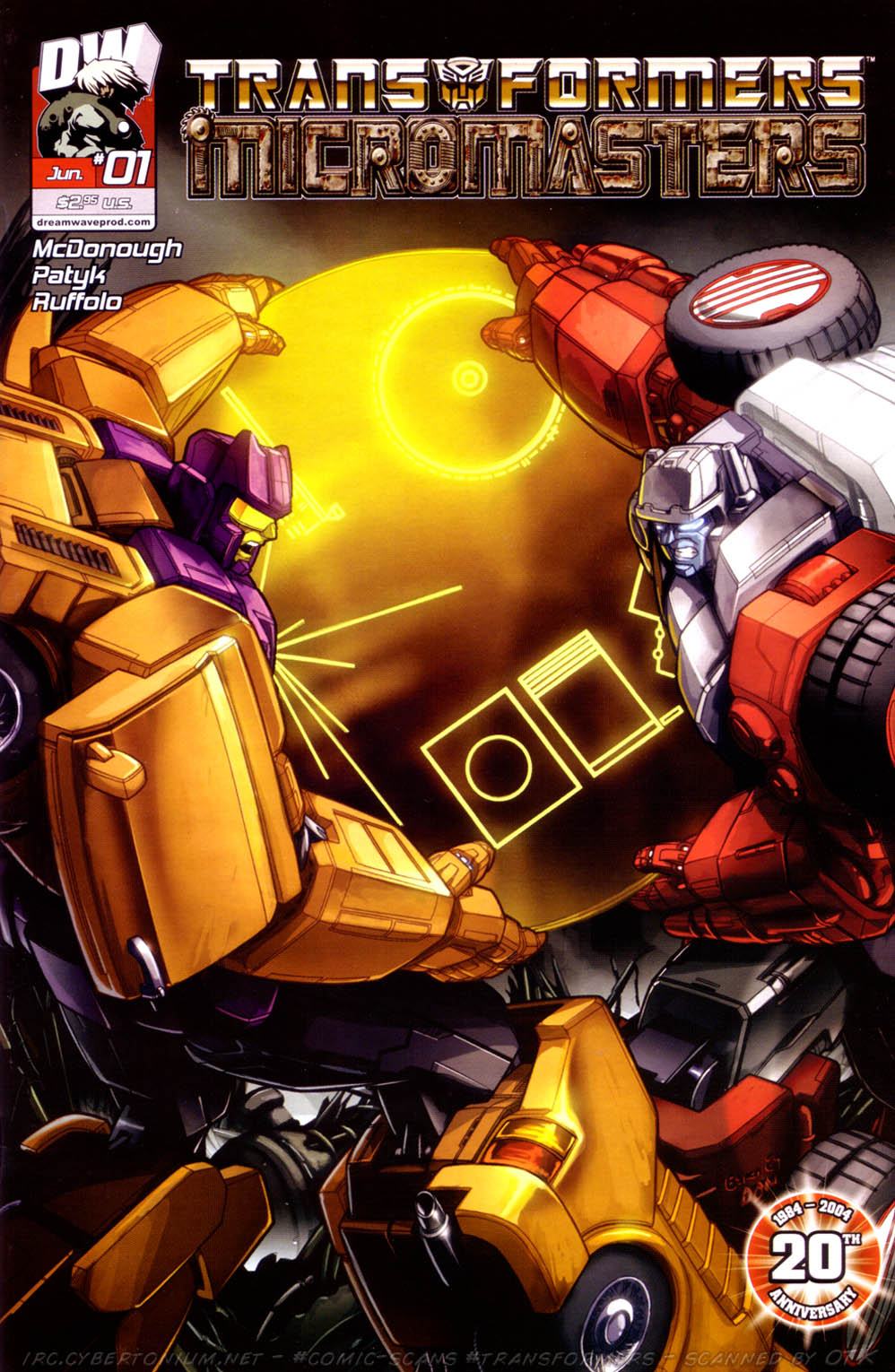 Read online Transformers: Micromasters comic -  Issue #1 - 2