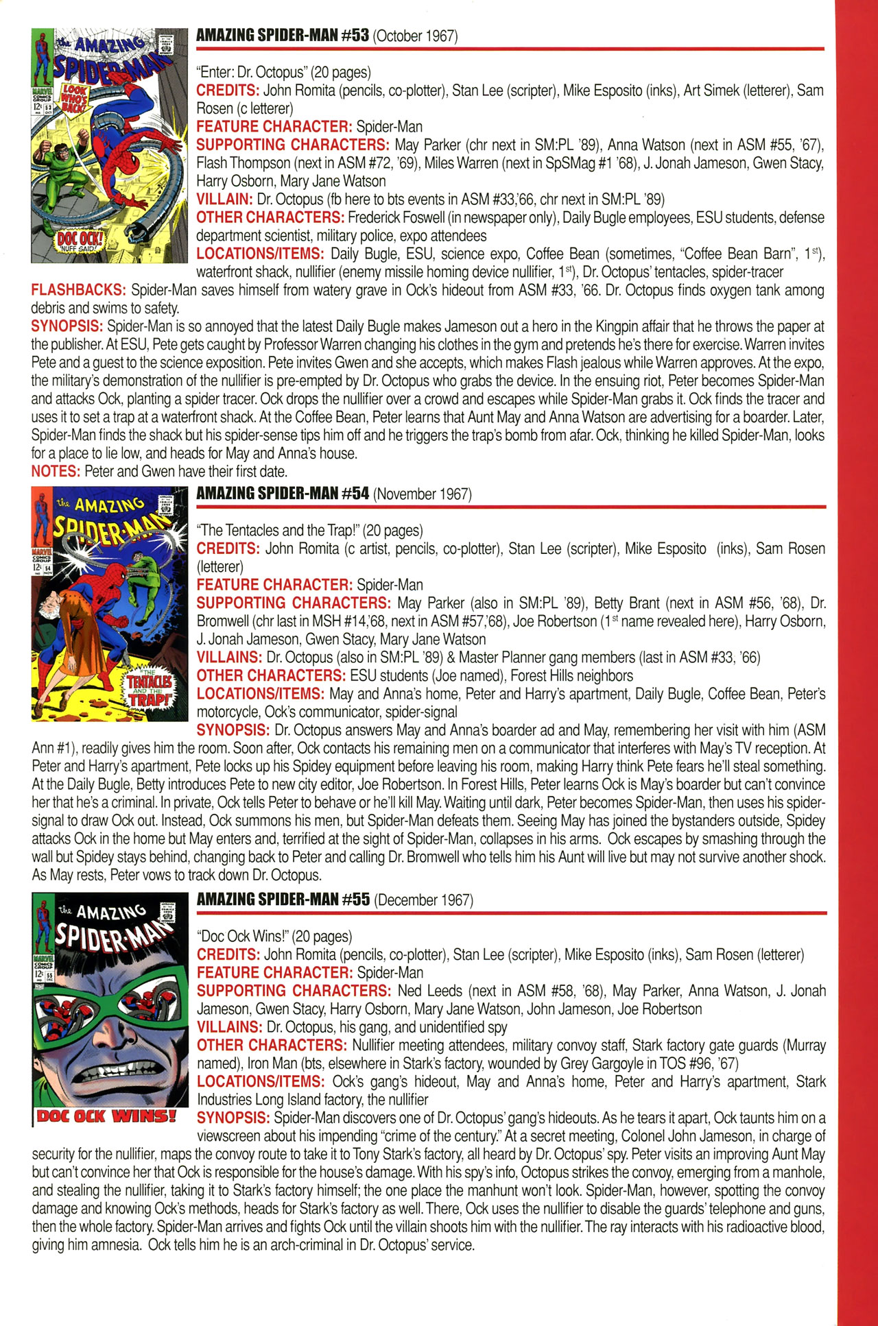 Read online Official Index to the Marvel Universe comic -  Issue #2 - 3