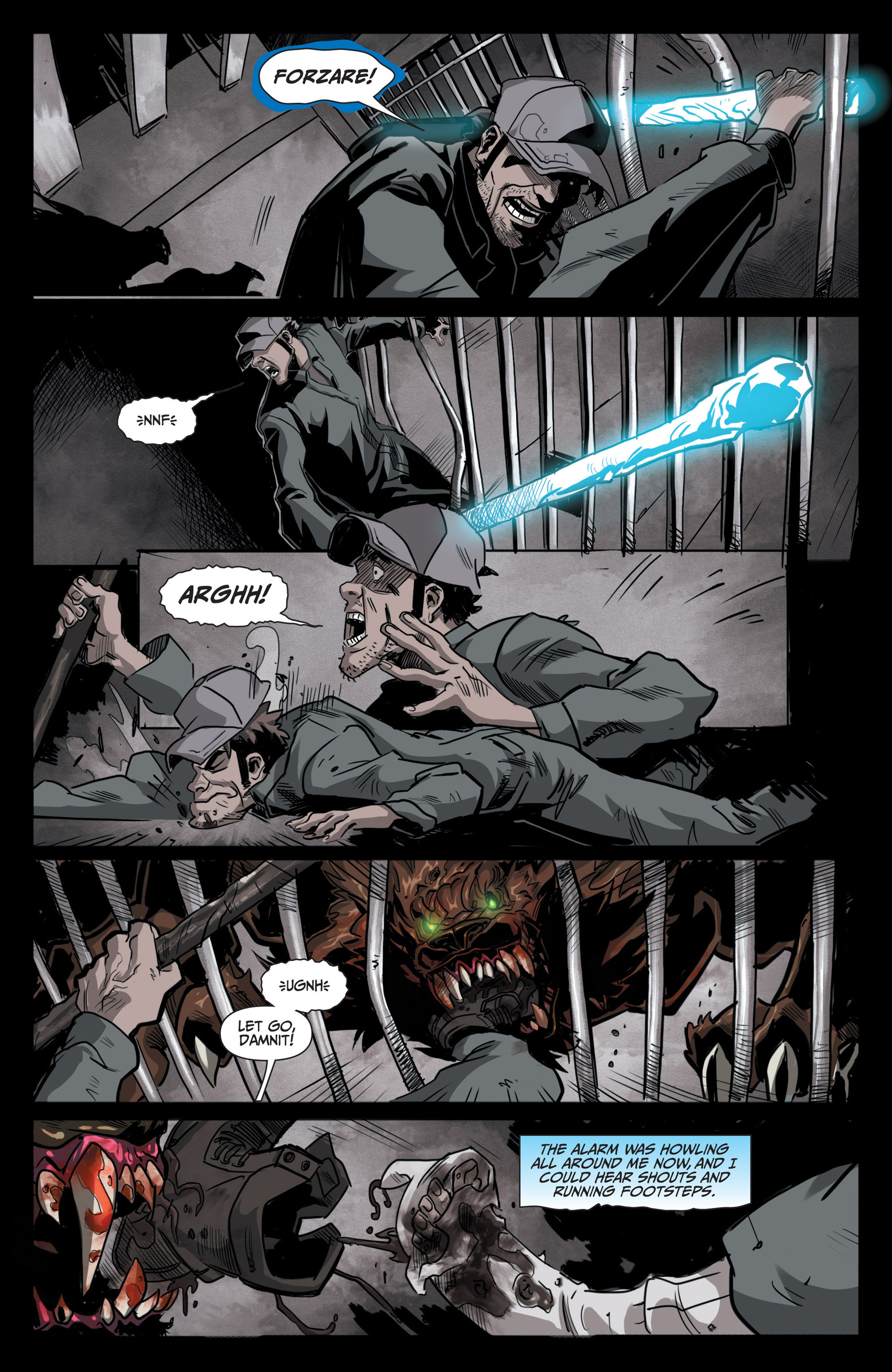 Read online Jim Butcher's The Dresden Files: Fool Moon comic -  Issue #5 - 14