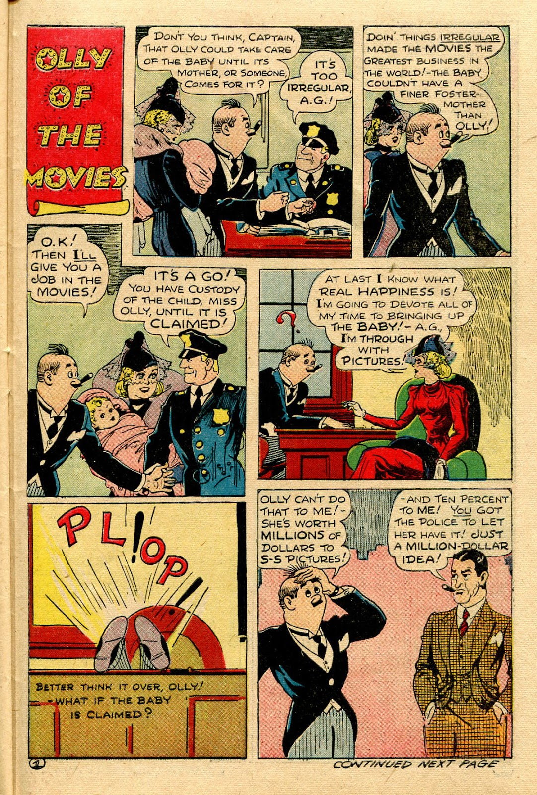 Read online Famous Funnies comic -  Issue #116 - 41
