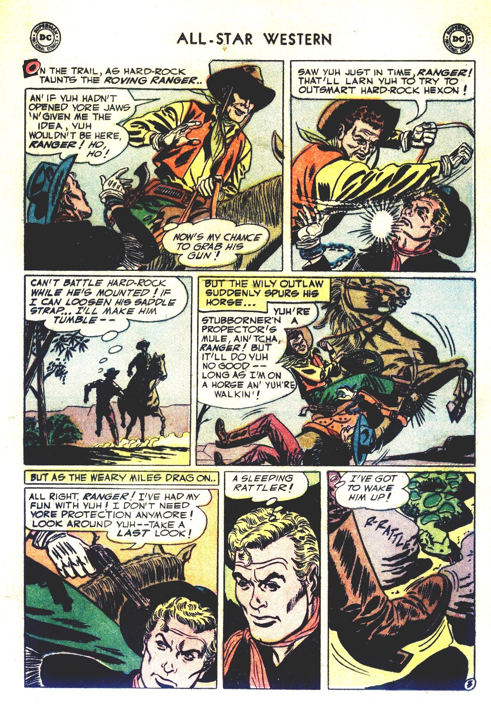 Read online All-Star Western (1951) comic -  Issue #66 - 21