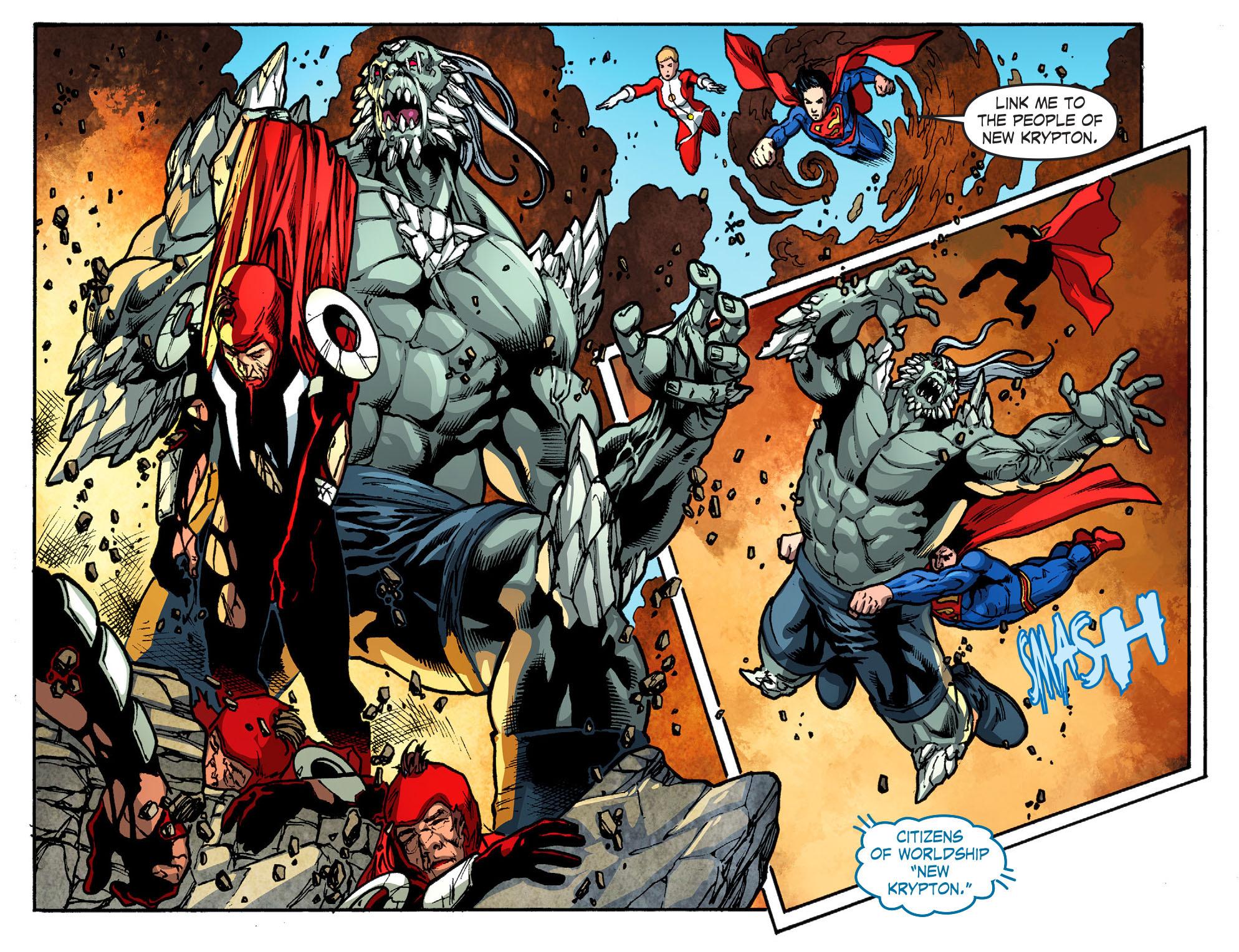 Read online Smallville: Season 11 comic -  Issue #52 - 10