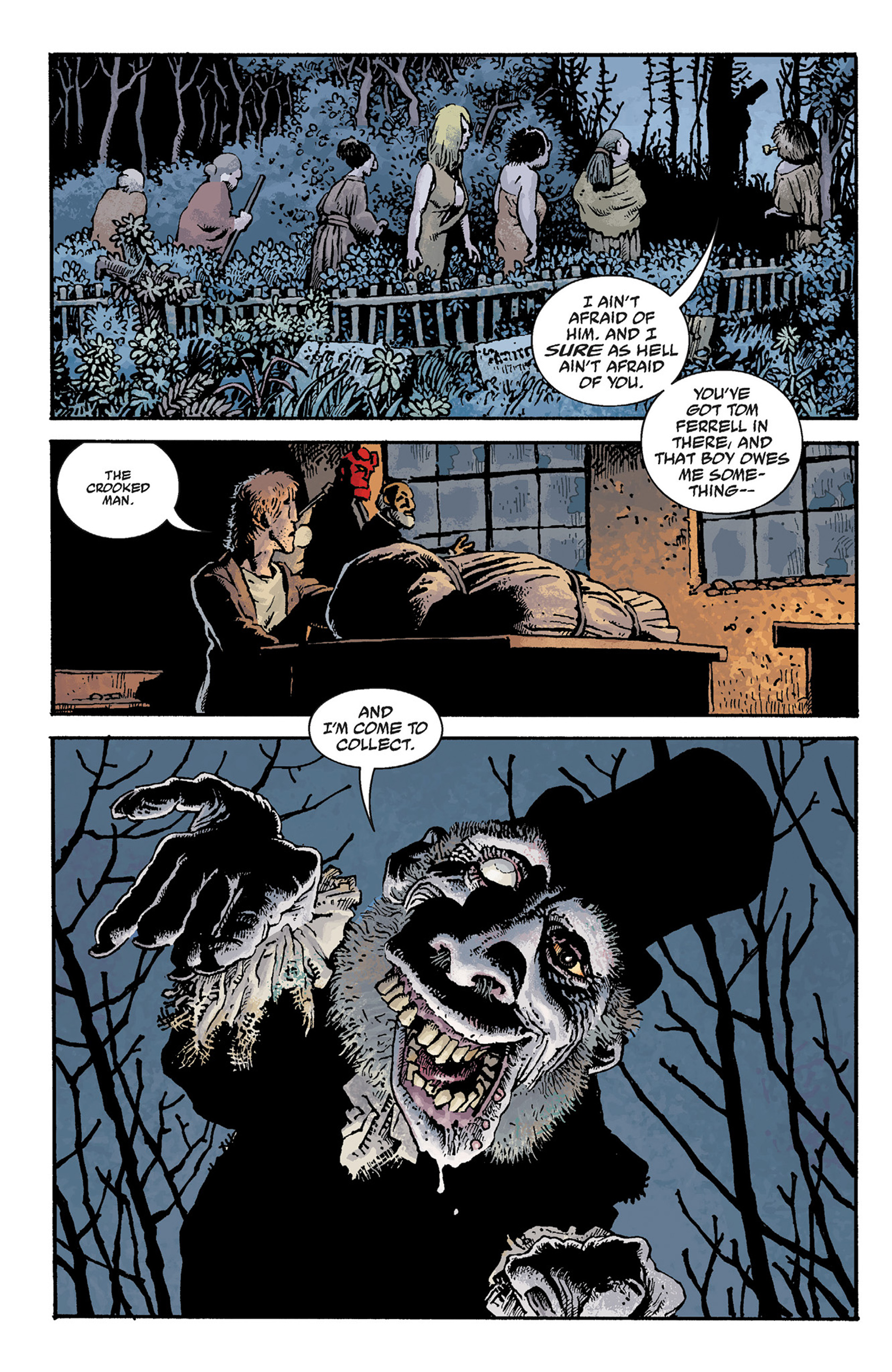 Read online Hellboy: The Crooked Man and Others comic -  Issue # TPB - 56