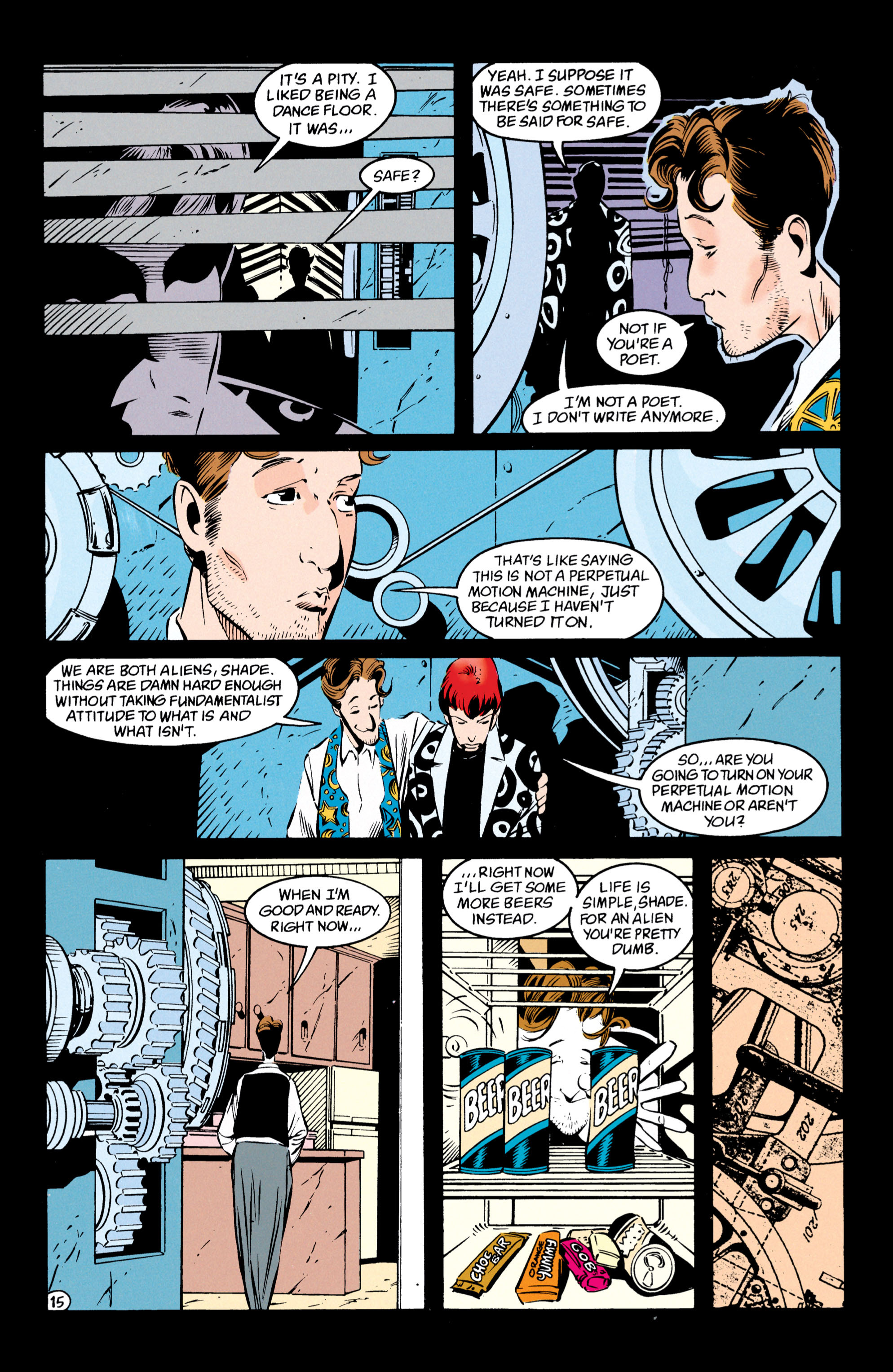 Read online Shade, the Changing Man comic -  Issue #54 - 16