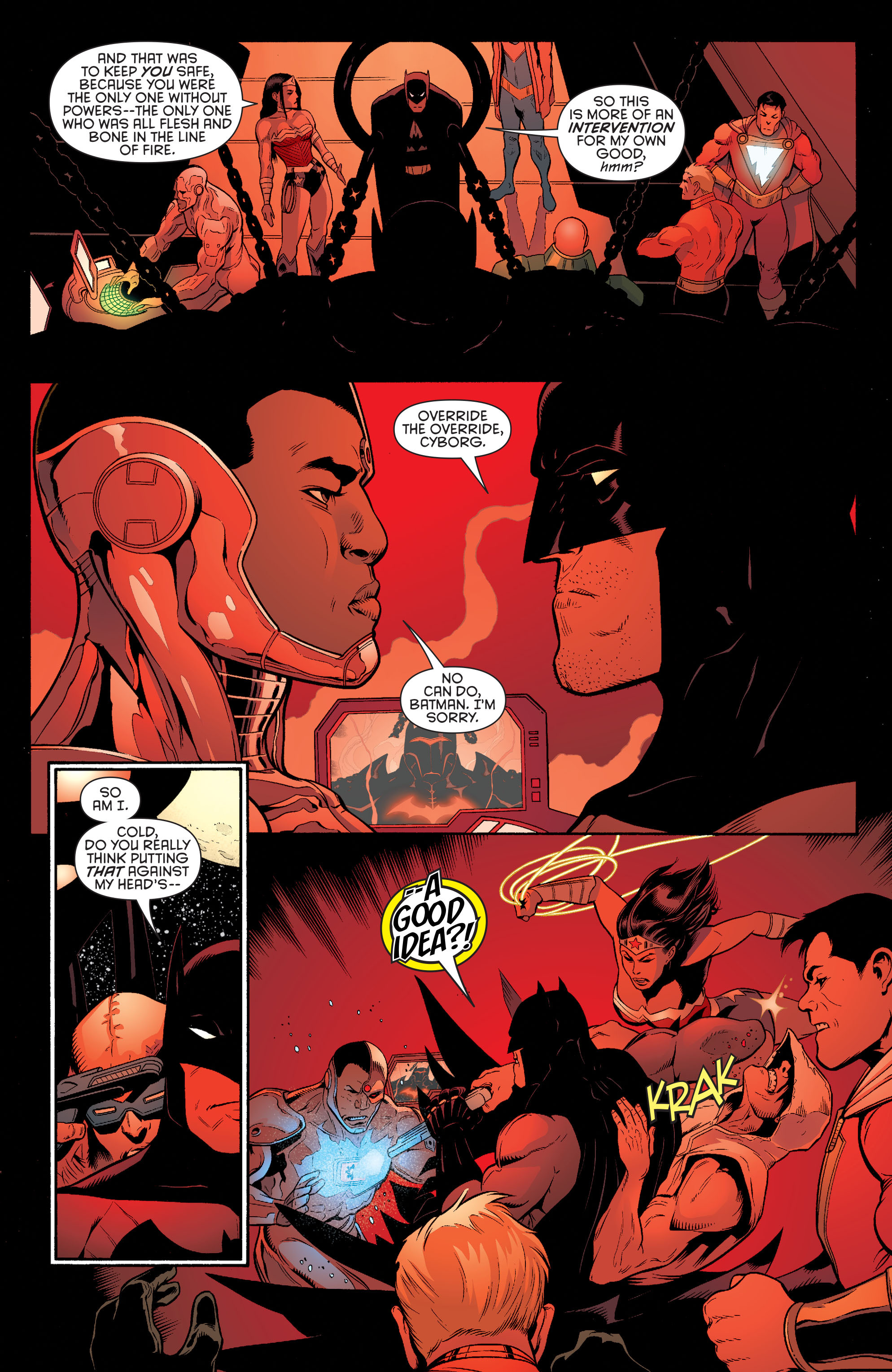 Read online Batman and Robin (2011) comic -  Issue #33 - 11