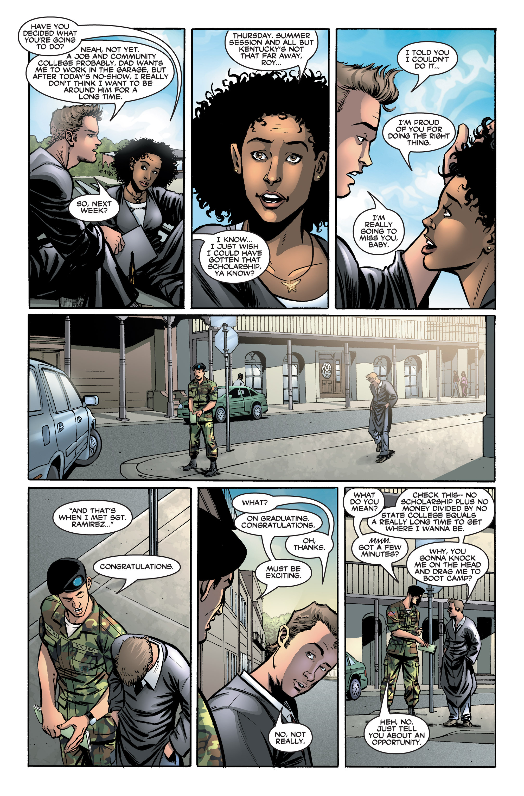 Read online America's Army comic -  Issue #2 - 8