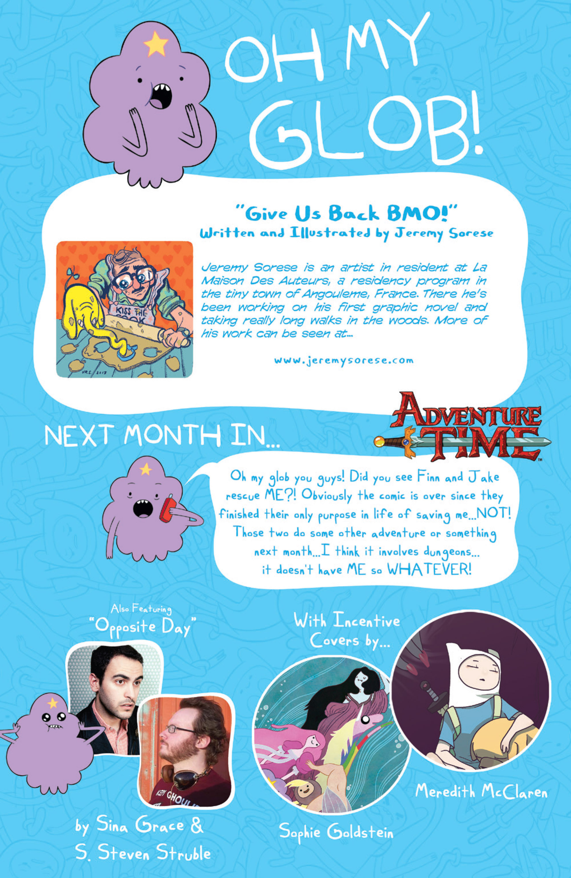Read online Adventure Time comic -  Issue #15 - 29