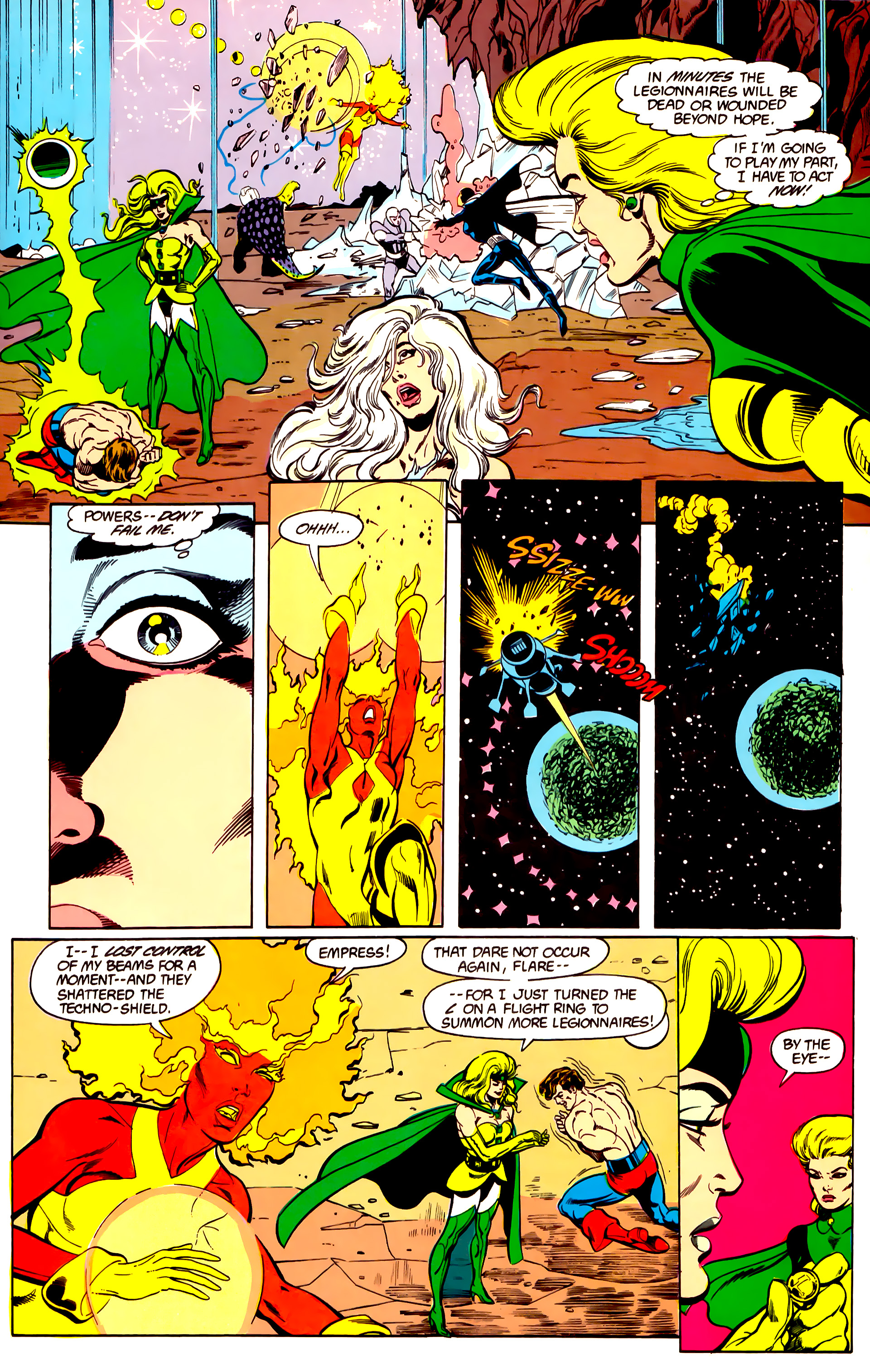 Legion of Super-Heroes (1984) 26 Page 22