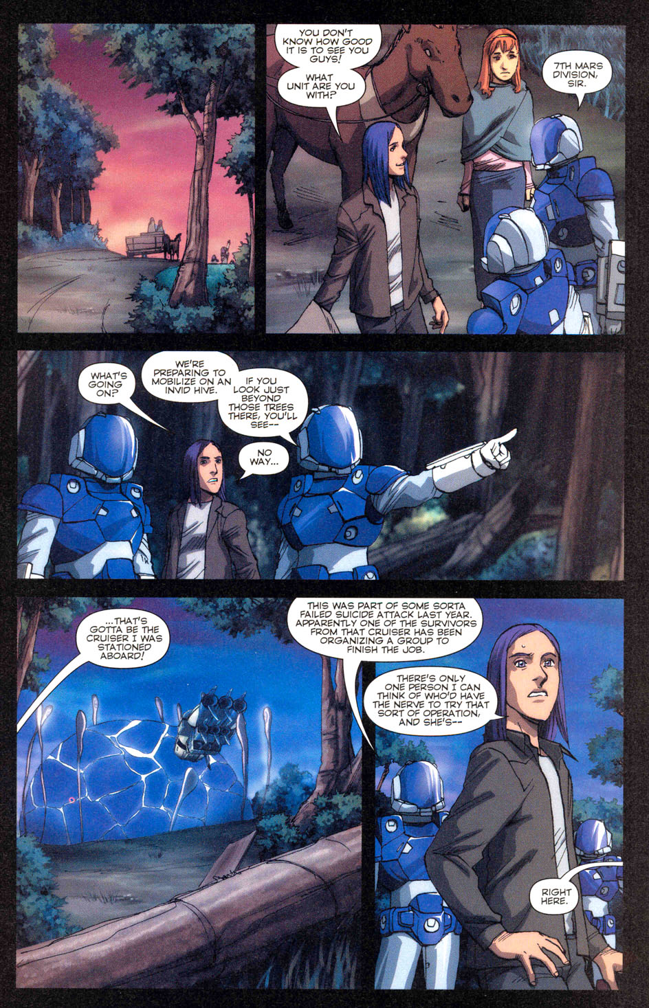 Read online Robotech: Invasion comic -  Issue #3 - 16