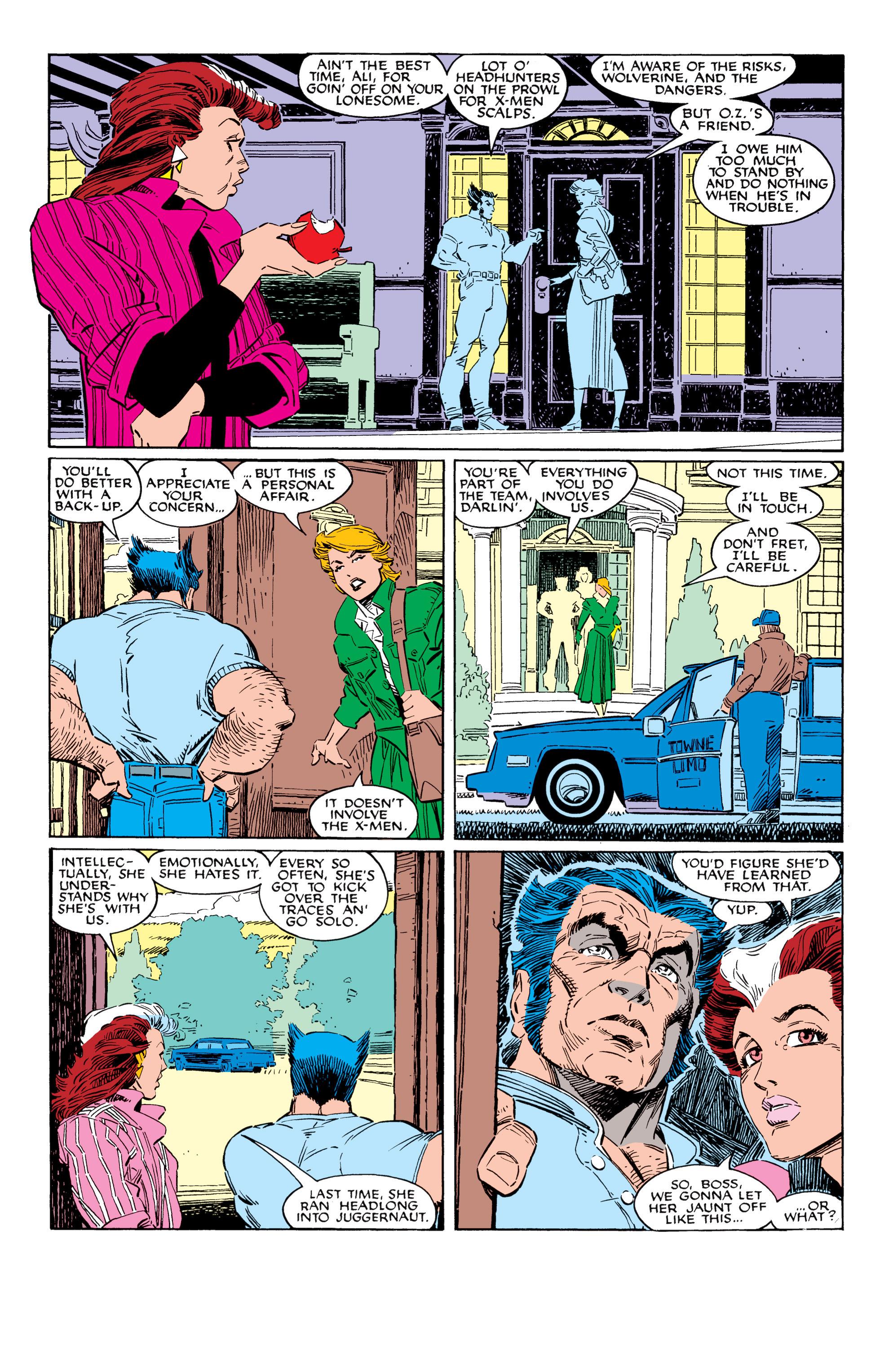 Read online Uncanny X-Men (1963) comic -  Issue #228 - 7