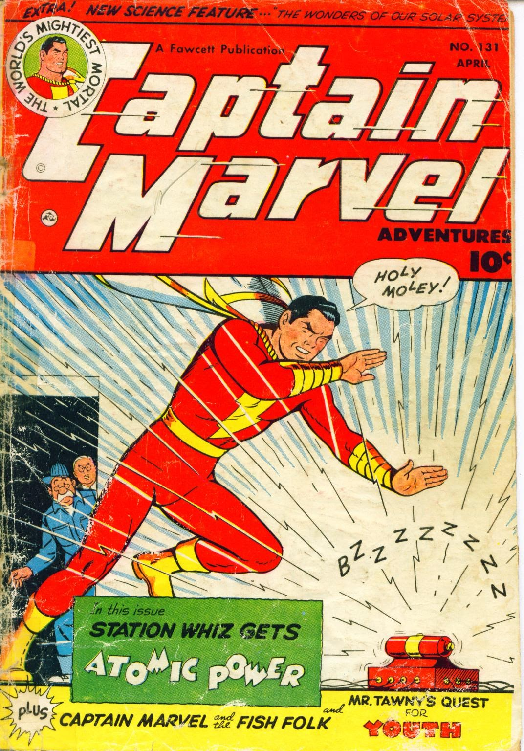 Captain Marvel Adventures issue 131 - Page 1