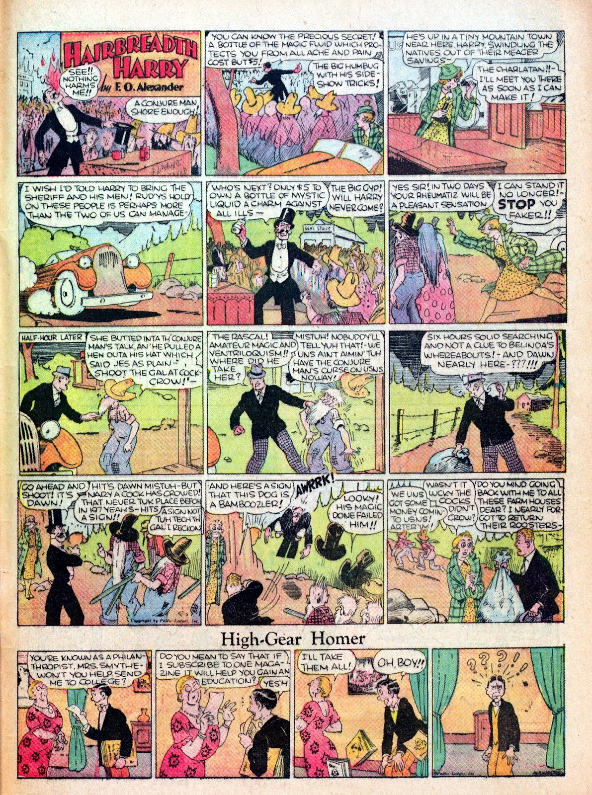 Read online Famous Funnies comic -  Issue #17 - 62