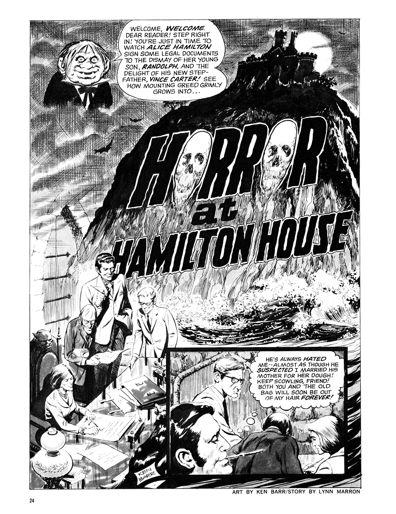 Read online Eerie Archives comic -  Issue # TPB 8 - 25