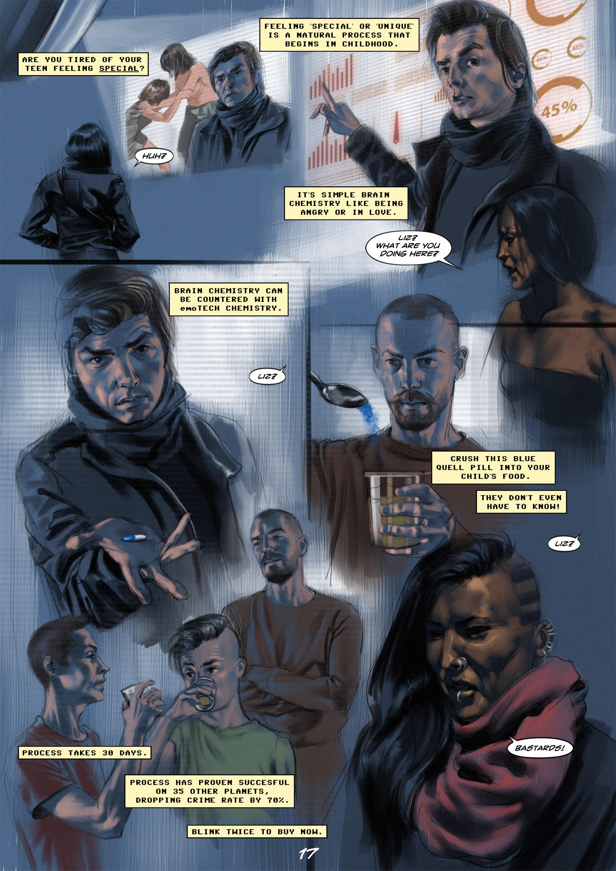 Read online Wynter comic -  Issue #1 - 17