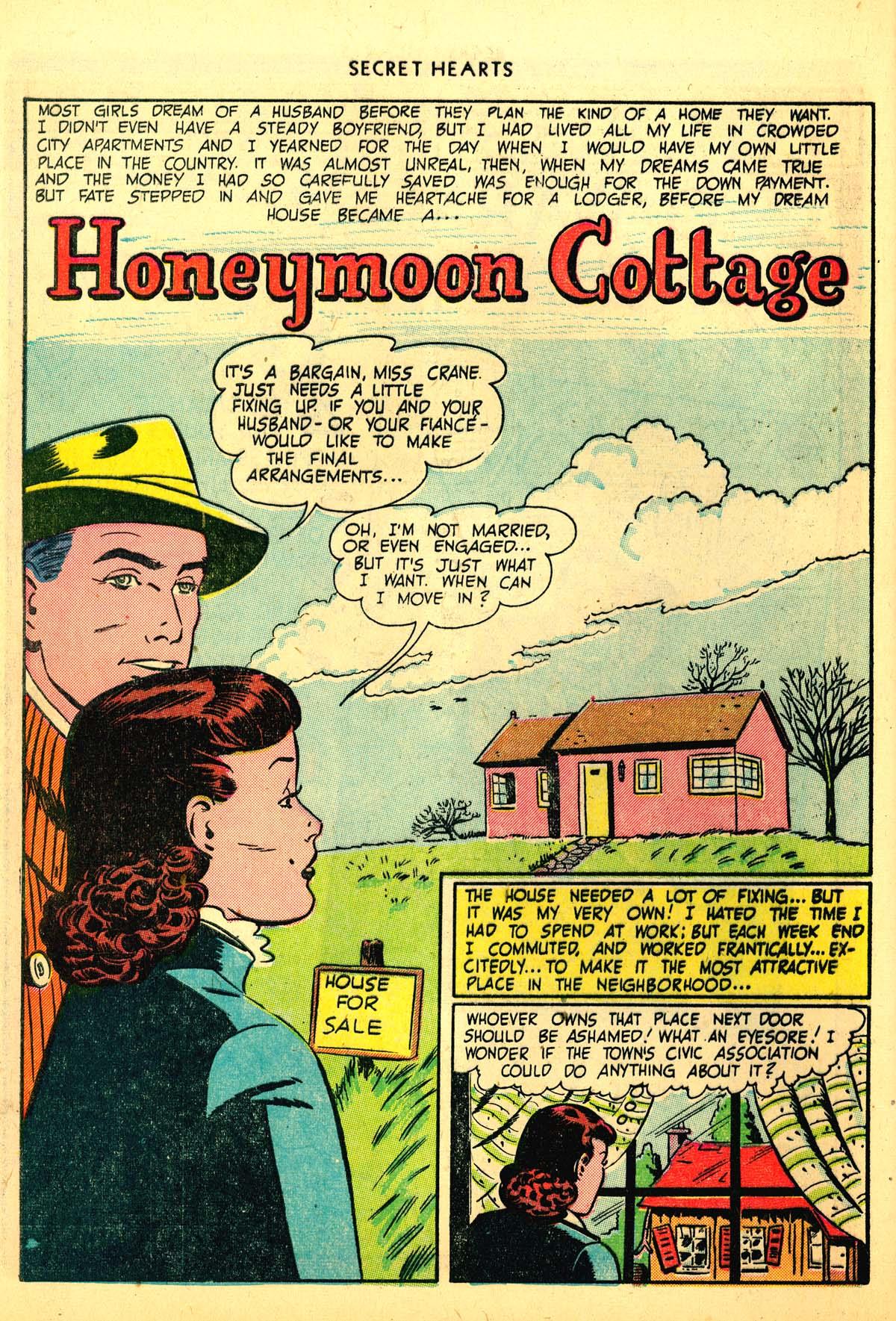 Read online Secret Hearts comic -  Issue #6 - 12