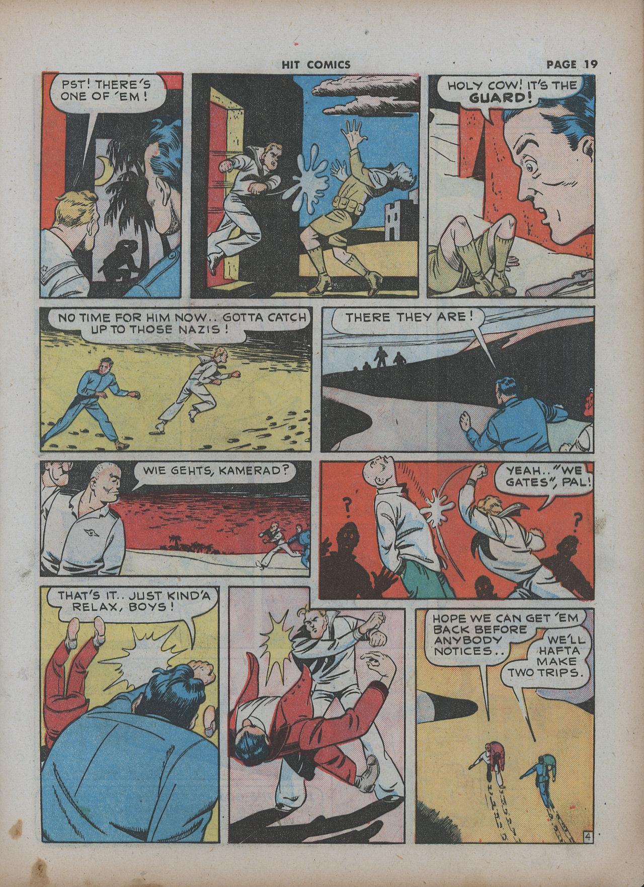 Read online Hit Comics comic -  Issue #22 - 21