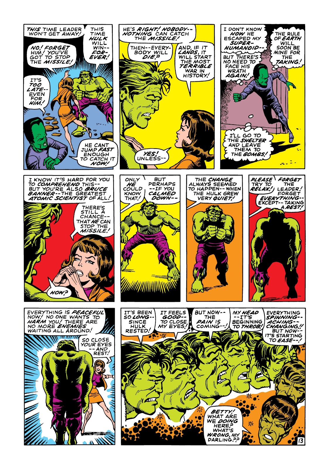 Read online Marvel Masterworks: The Incredible Hulk comic -  Issue # TPB 5 (Part 2) - 45