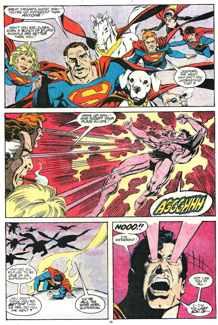 Read online Adventures of Superman (1987) comic -  Issue #435 - 14