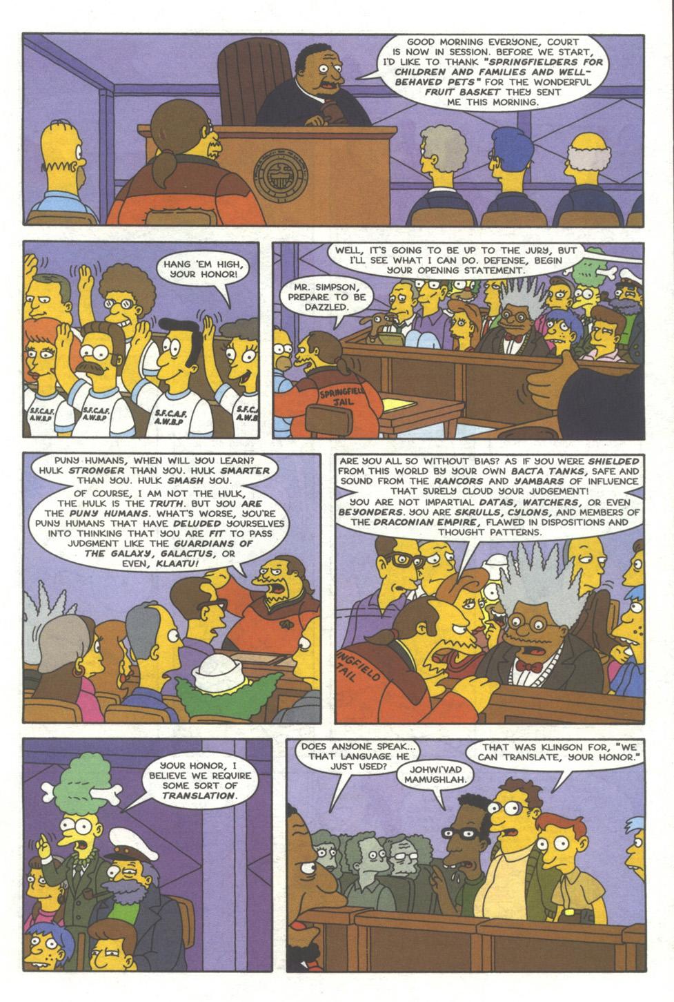 Read online Simpsons Comics comic -  Issue #39 - 18