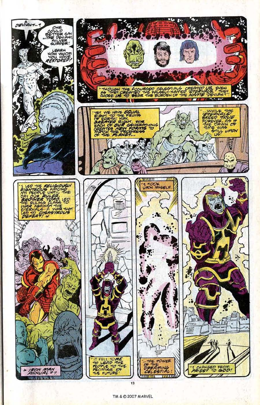 Read online Silver Surfer (1987) comic -  Issue # _Annual 2 - 15