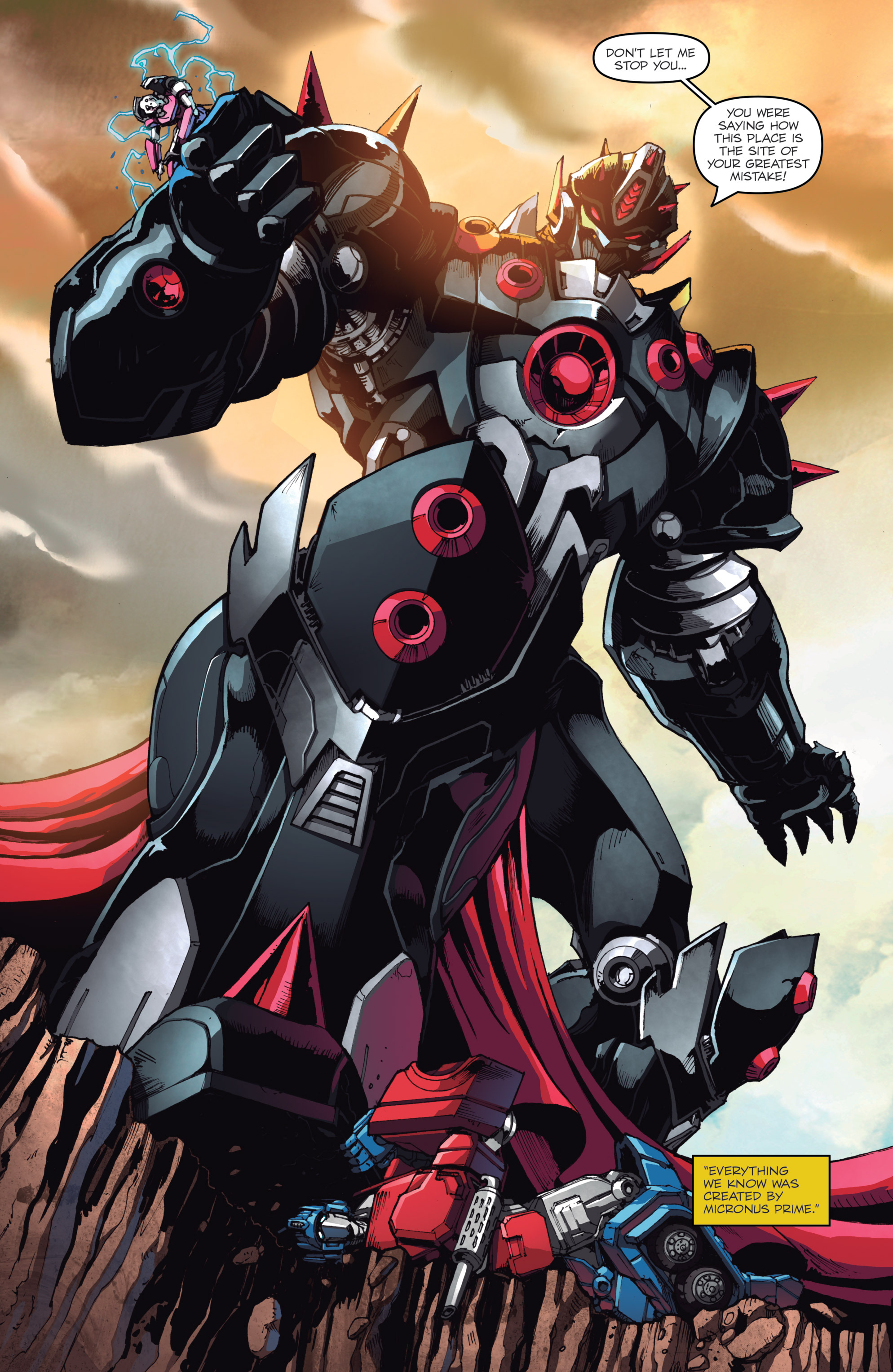 Read online Micronauts: Wrath of Karza comic -  Issue #1 - 19
