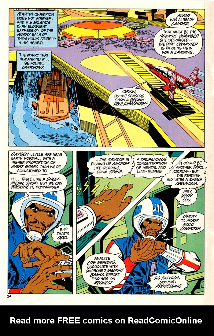 Read online Atari Force (1982) comic -  Issue #5 - 26