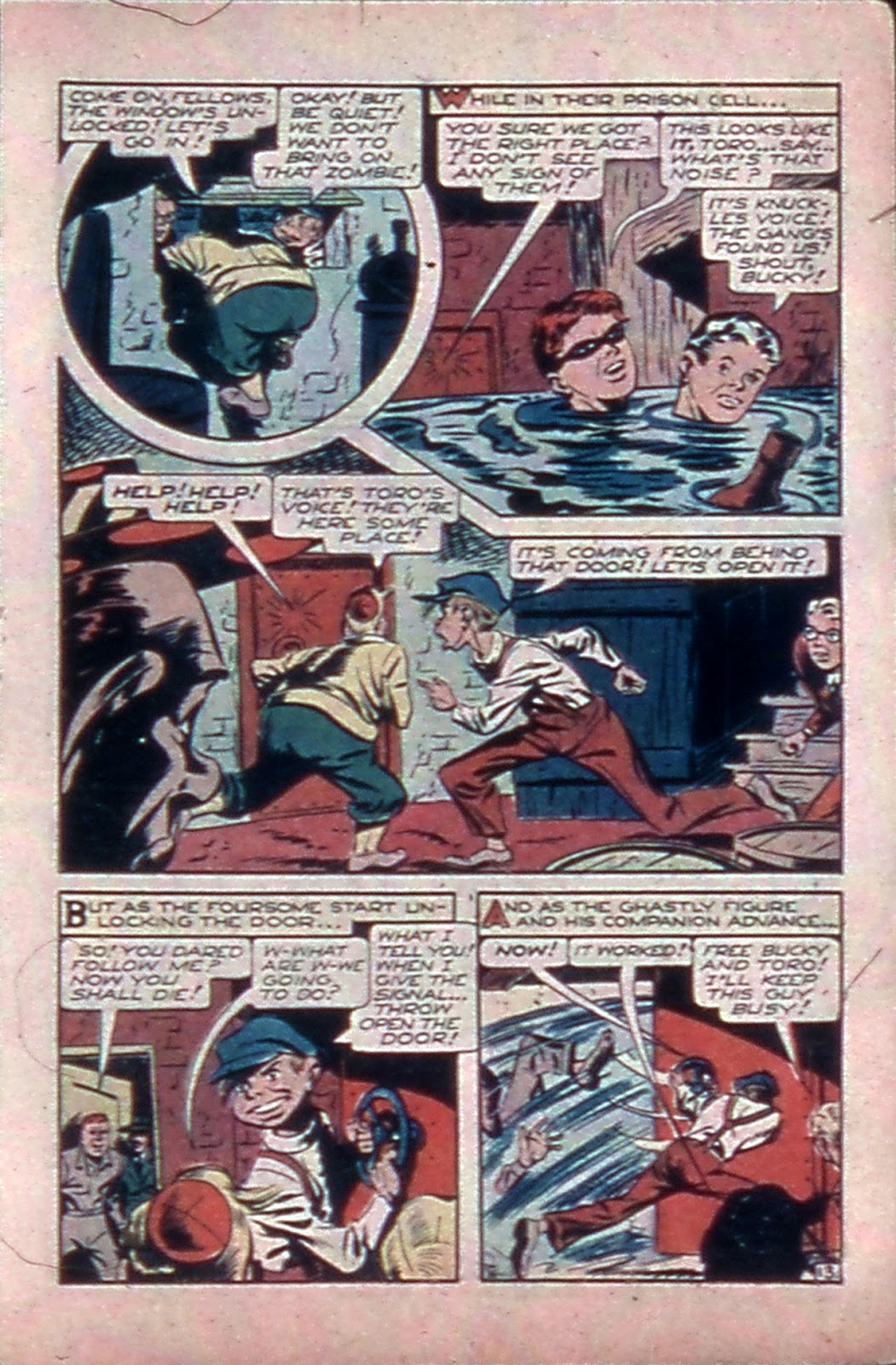 Read online Mystic Comics (1944) comic -  Issue #4 - 15