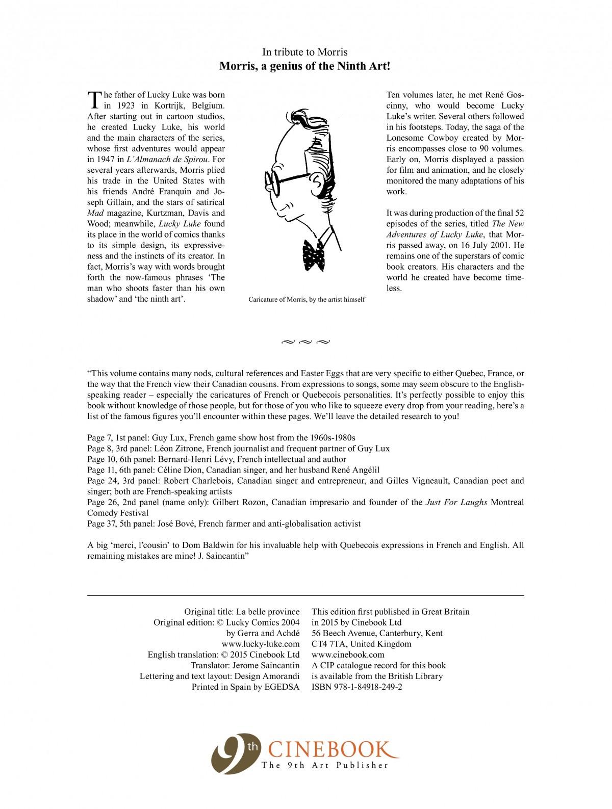 Read online A Lucky Luke Adventure comic -  Issue #52 - 4
