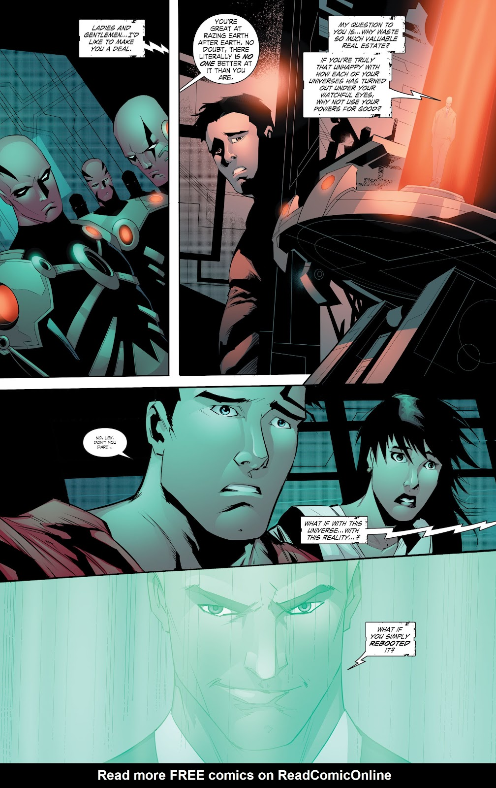 Read online Smallville Season 11 [II] comic -  Issue # TPB 8 - 142