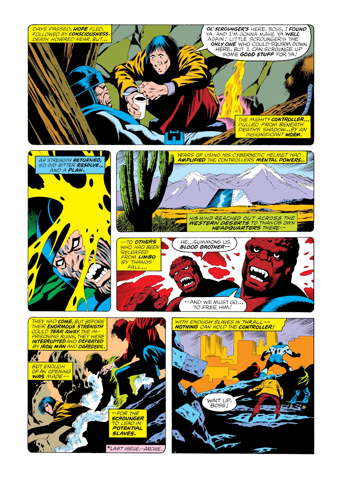 Read online Marvel Masterworks: The Invincible Iron Man comic -  Issue # TPB 11 (Part 2) - 99